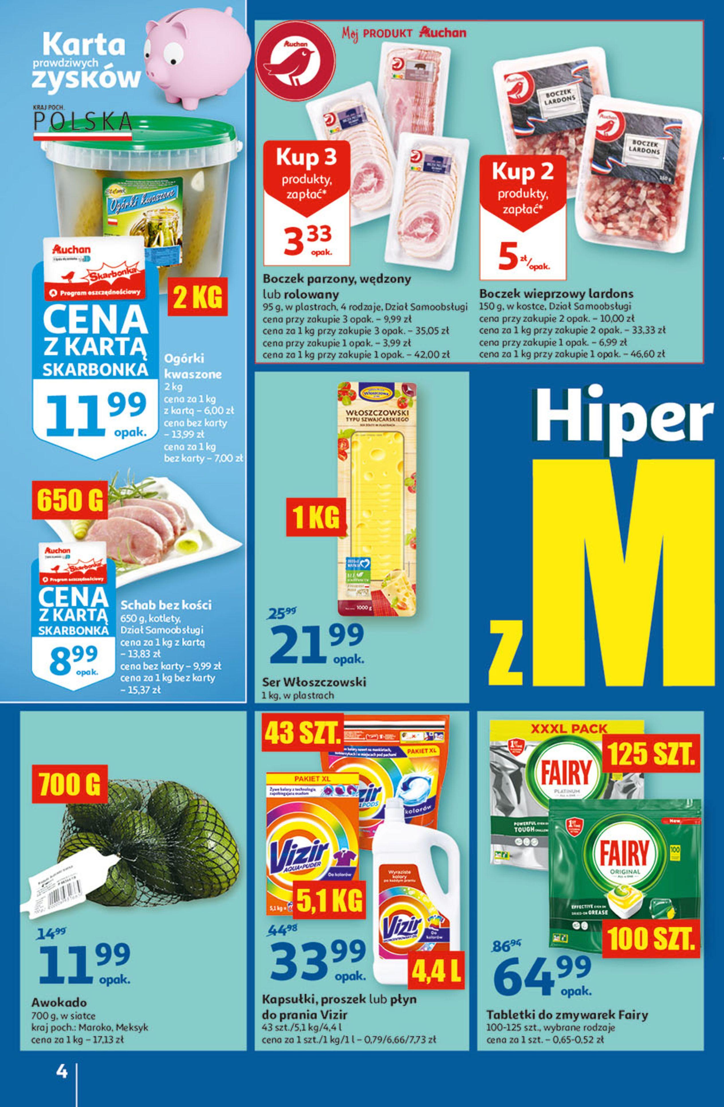 Gazetka Auchan: Gazetka Auchan - Hiperoszczędzanie w wersji Maxi Paki Hipermarkety 2021-09-16 page-4