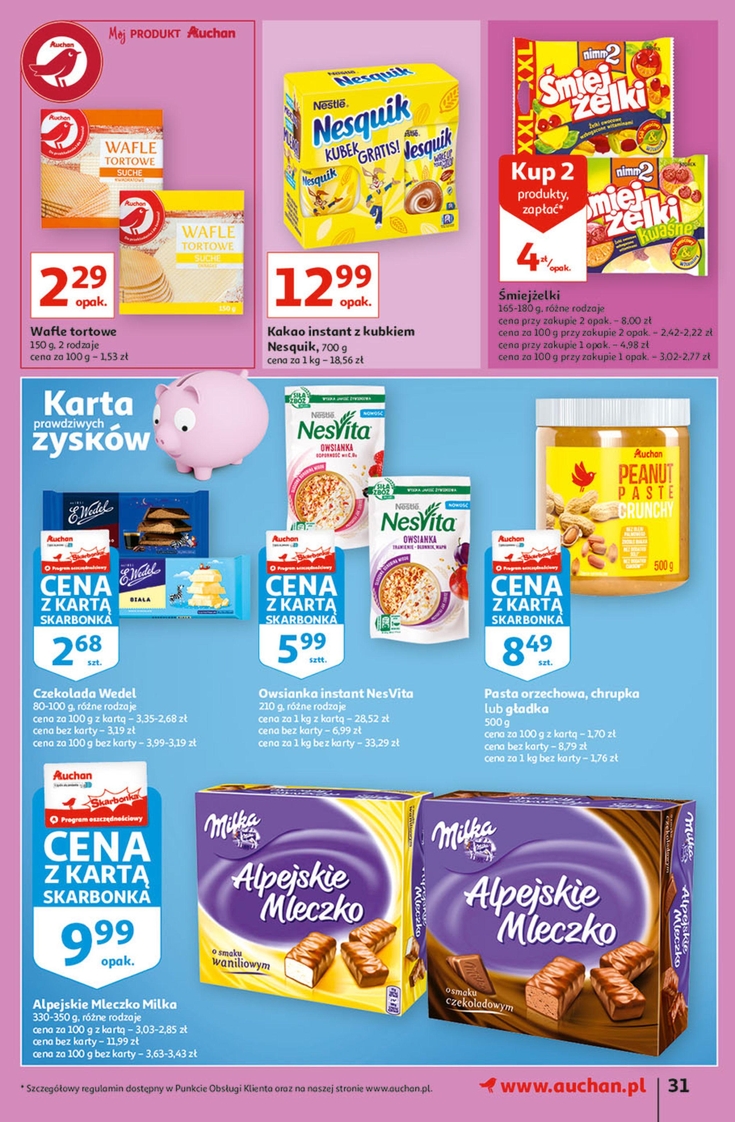 Gazetka Auchan: Gazetka Auchan - Hiperoszczędzanie w wersji Maxi Paki Hipermarkety 2021-09-16 page-31