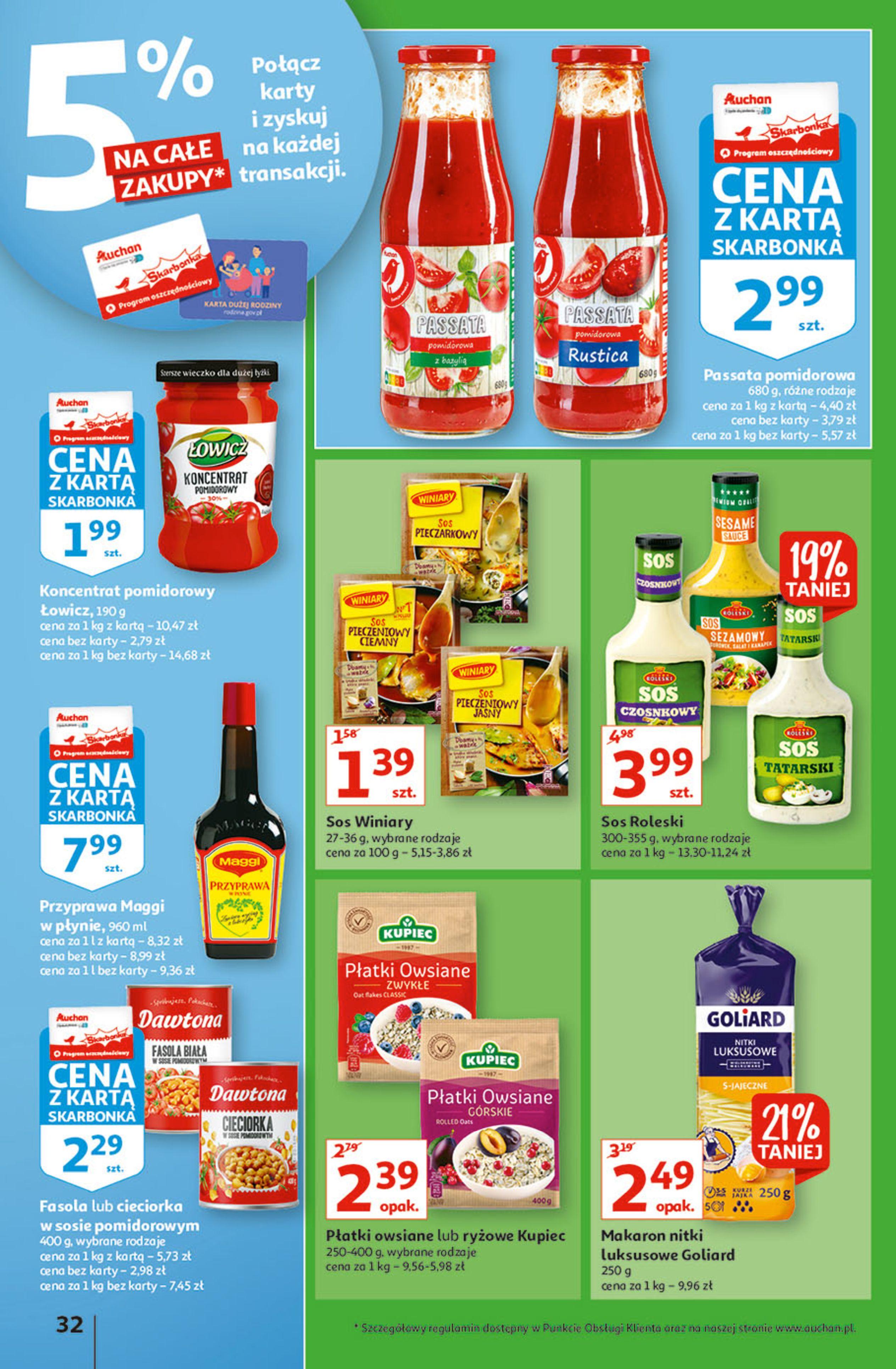 Gazetka Auchan: Gazetka Auchan - Hiperoszczędzanie w wersji Maxi Paki Hipermarkety 2021-09-16 page-32