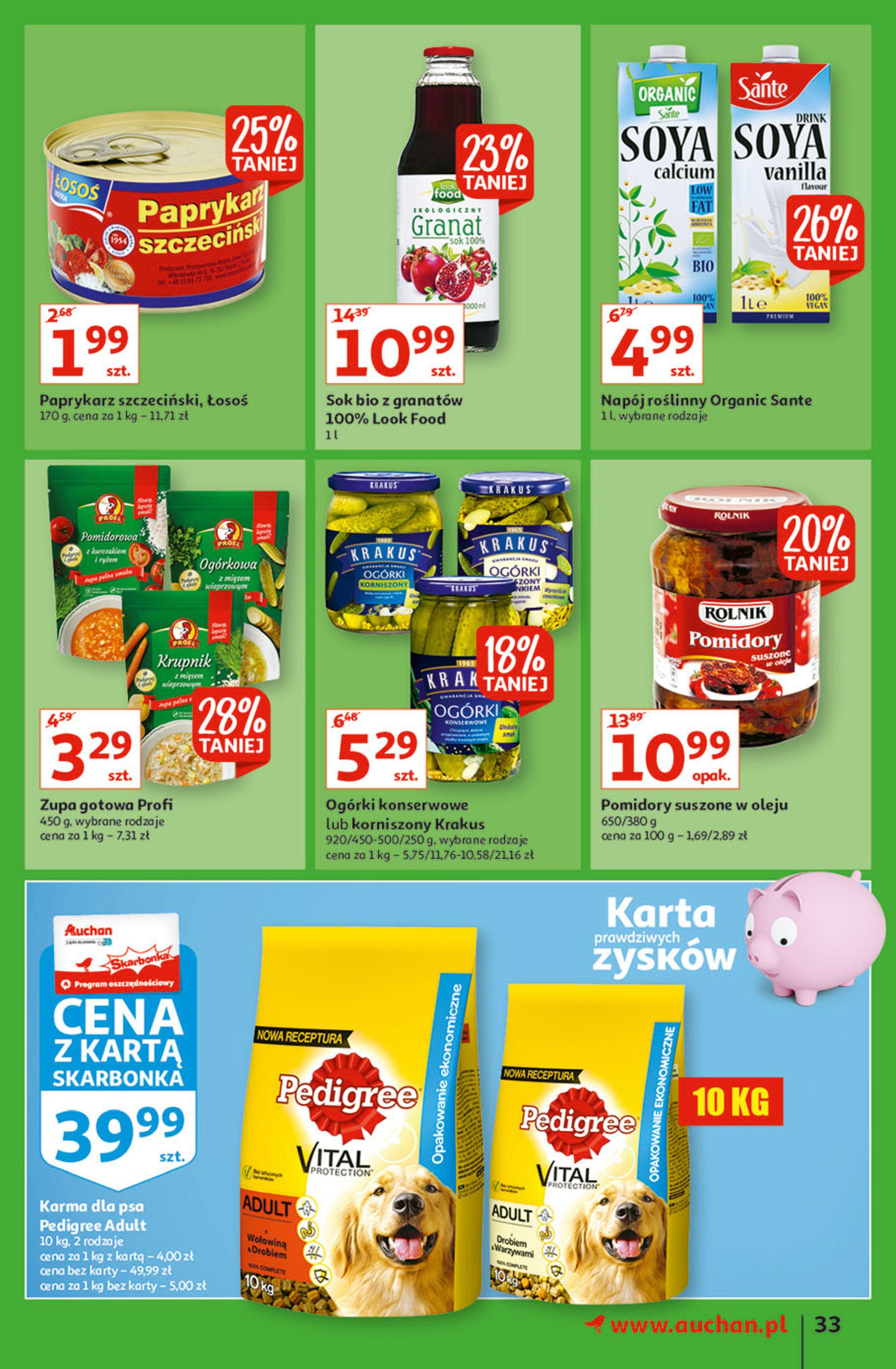 Gazetka Auchan: Gazetka Auchan - Hiperoszczędzanie w wersji Maxi Paki Hipermarkety 2021-09-16 page-33