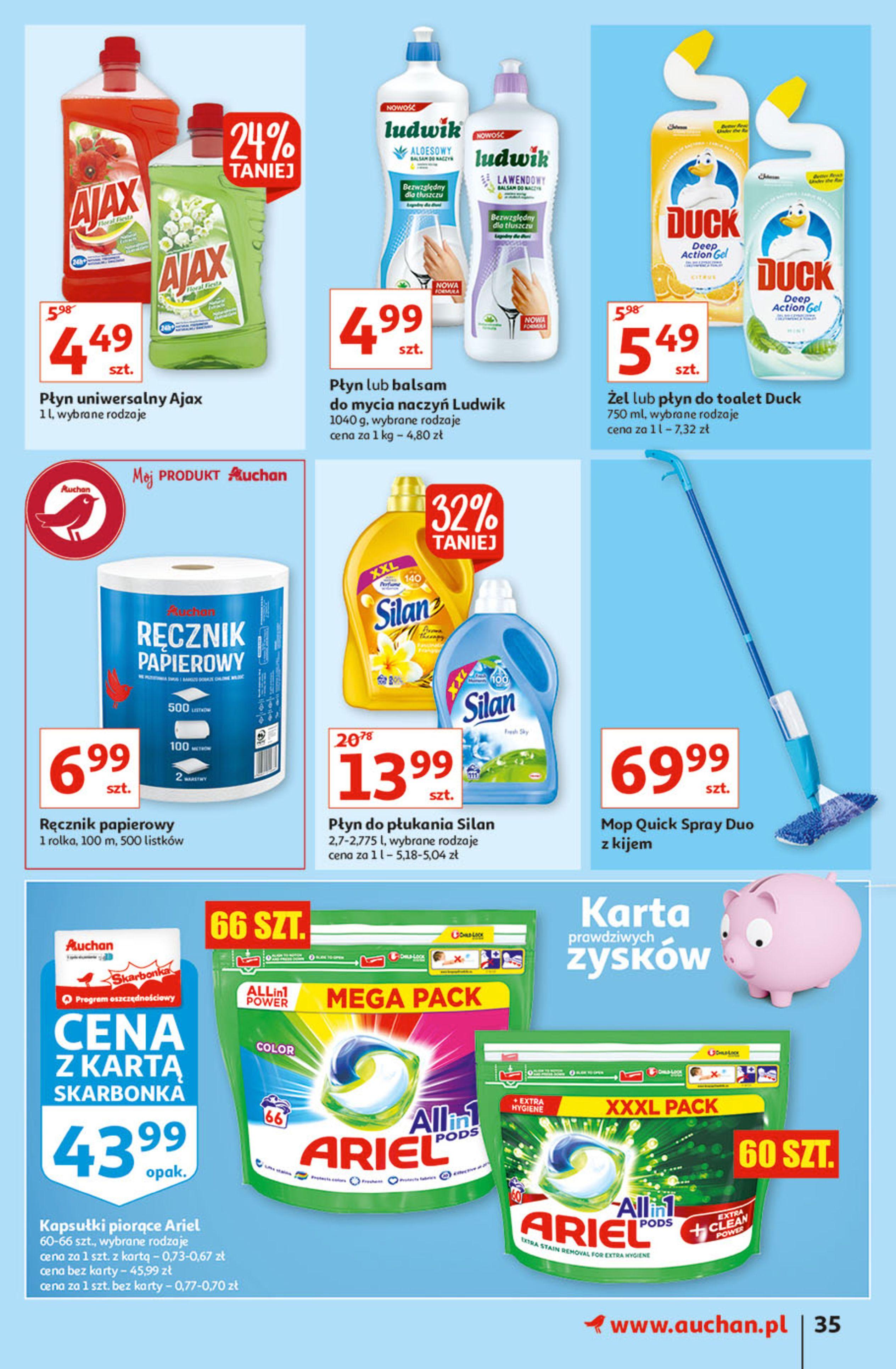Gazetka Auchan: Gazetka Auchan - Hiperoszczędzanie w wersji Maxi Paki Hipermarkety 2021-09-16 page-35