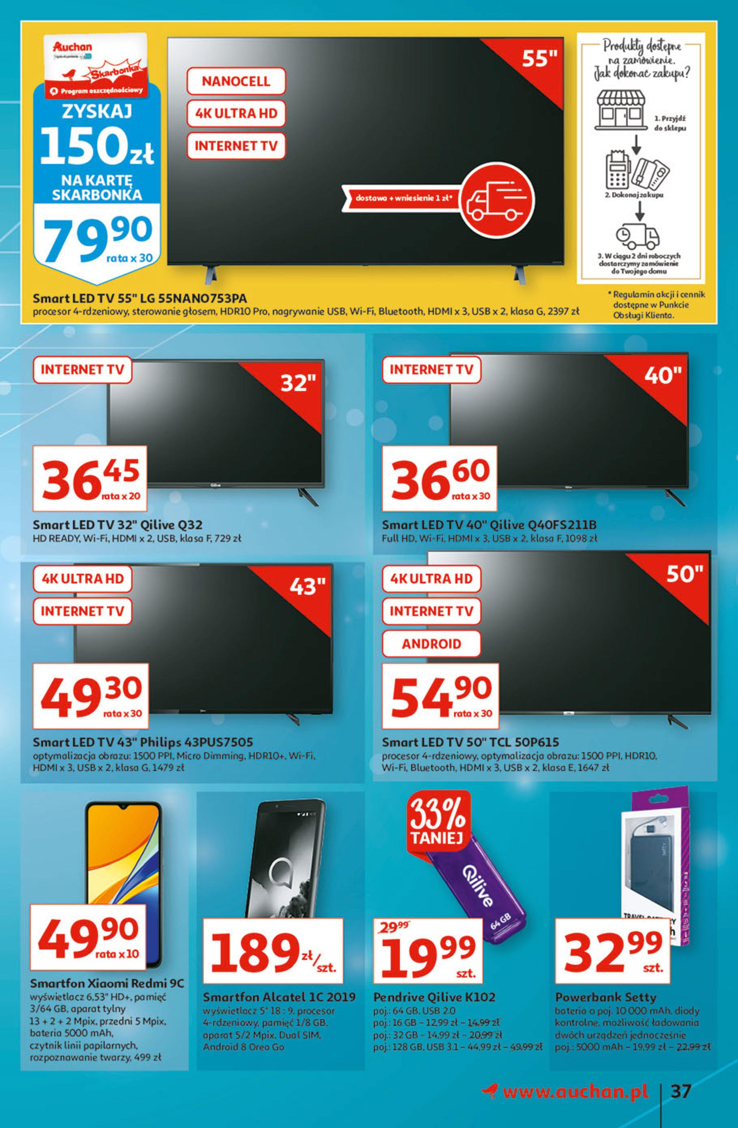Gazetka Auchan: Gazetka Auchan - Hiperoszczędzanie w wersji Maxi Paki Hipermarkety 2021-09-16 page-37