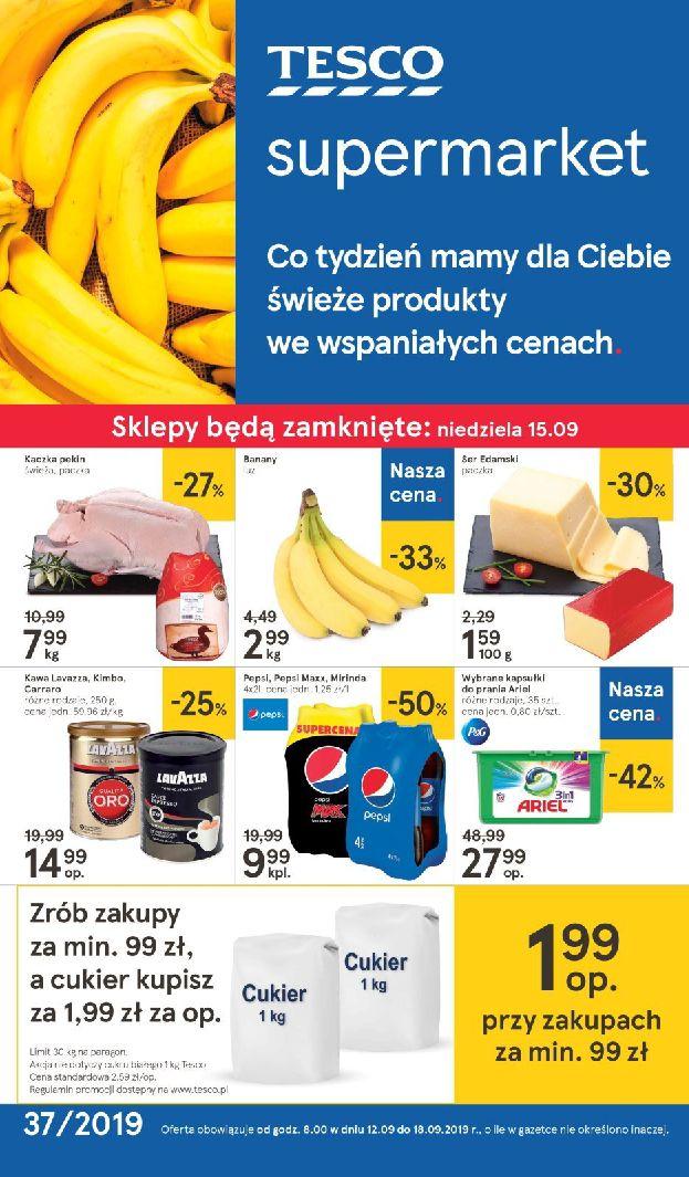 Gazetka Tesco Supermarket - Oferta na art. spożywcze i kosmetyki-11.09.2019-18.09.2019-page-
