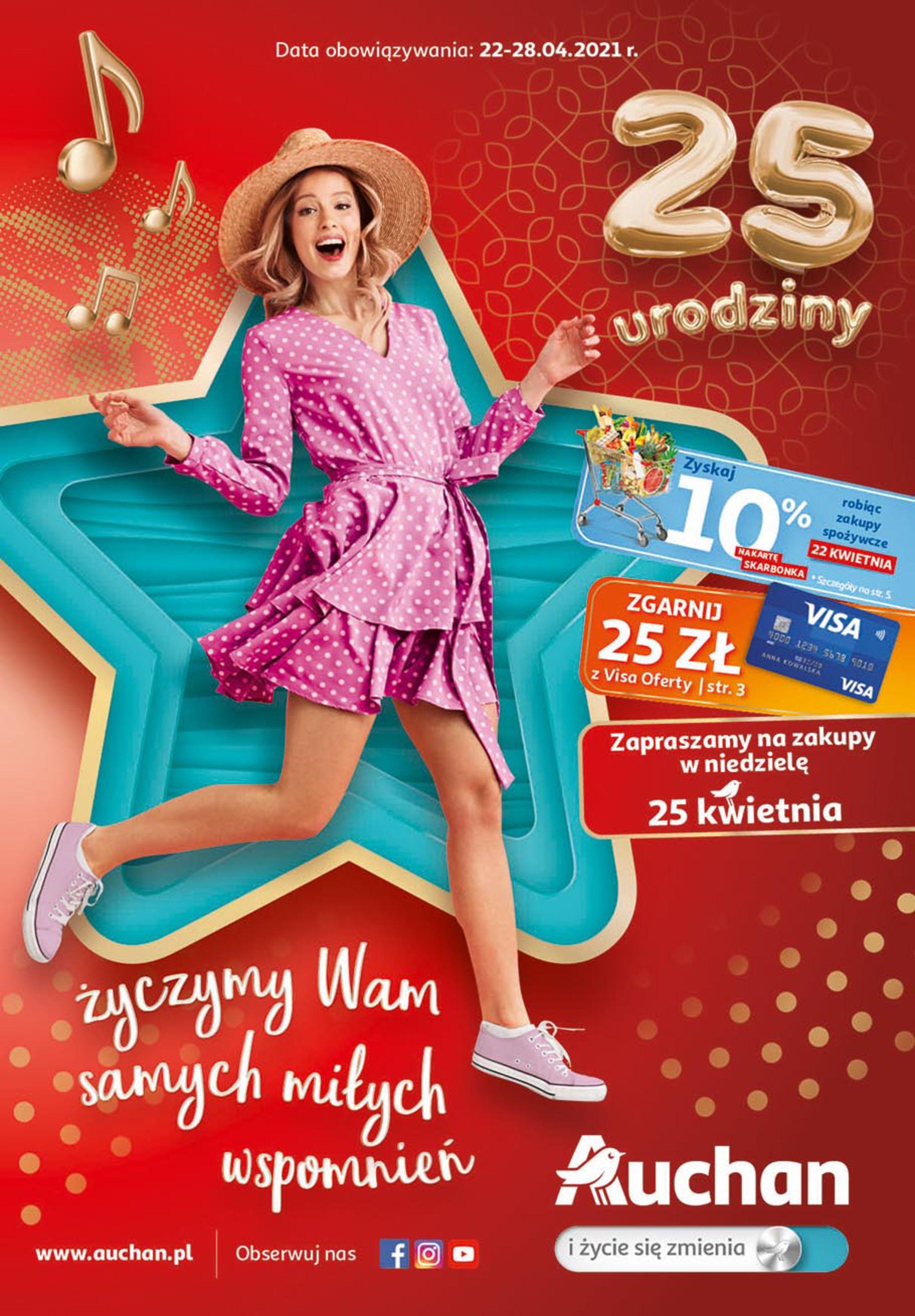 Auchan:  Oferta handlowa 21.04.2021