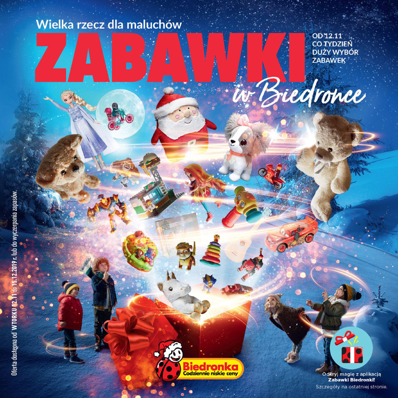 Gazetka Biedronka - Zabawki w Biedronce-11.11.2019-15.12.2019-page-1