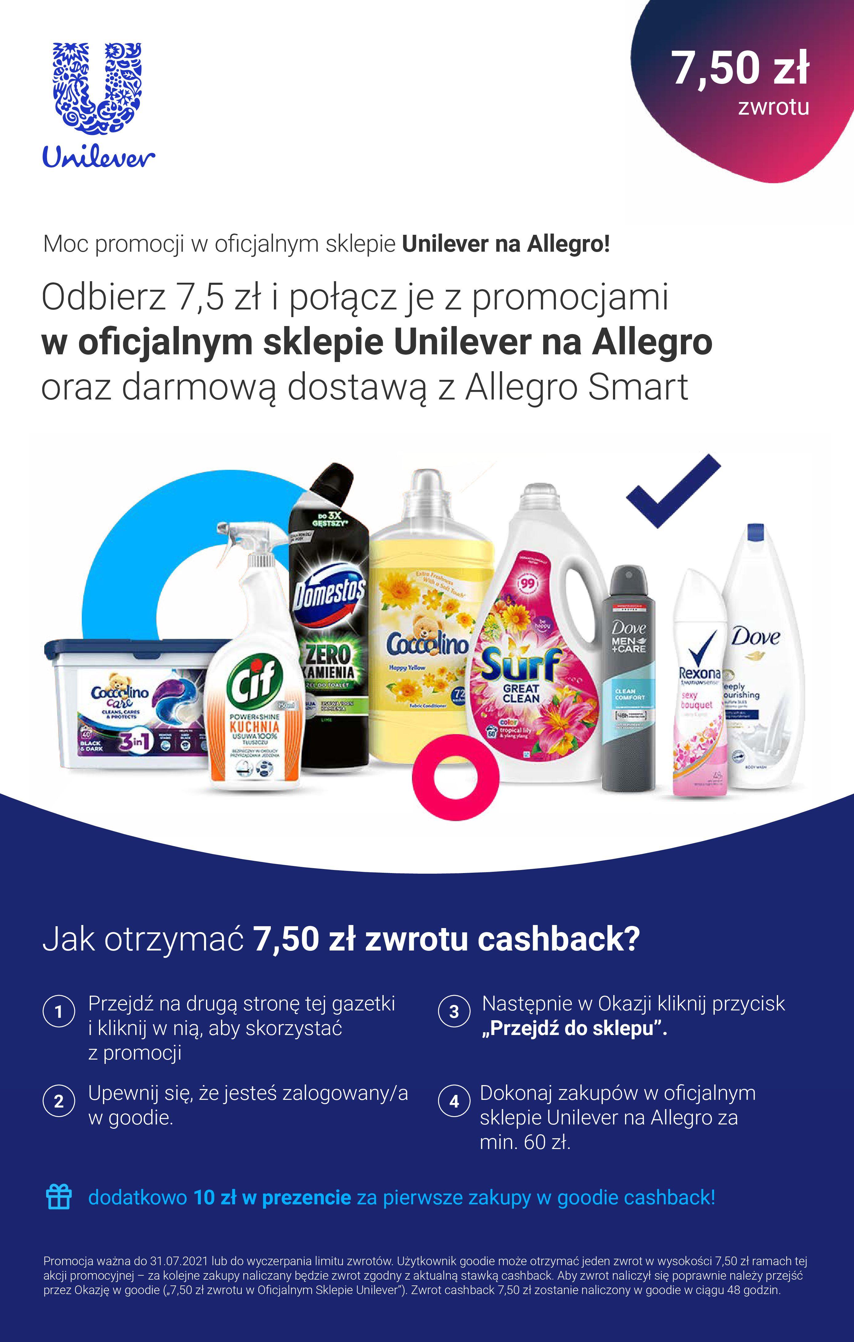 Gazetka Allegro: Gazetka promocyjna Allegro 2021-07-19 page-1