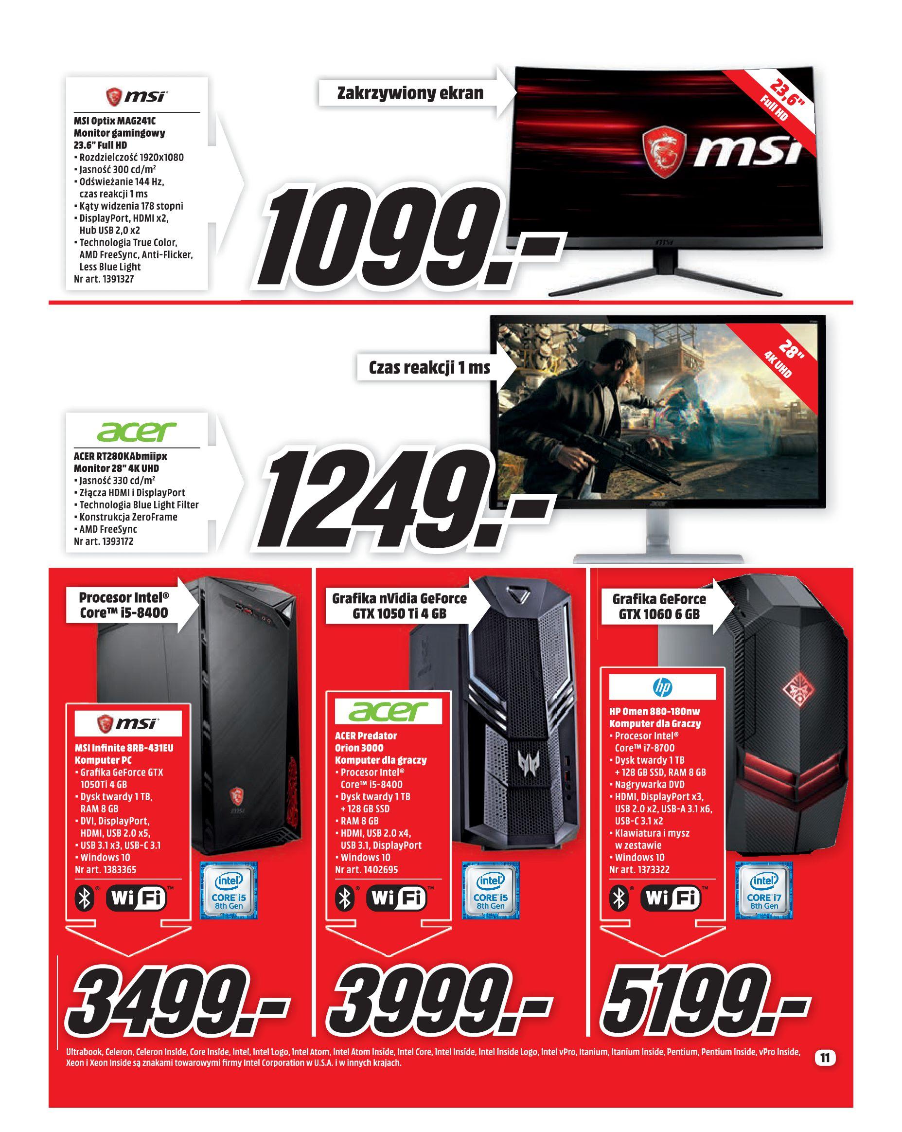 Gazetka Media Markt - Co słychać w rozrywce ?-01.08.2019-31.08.2019-page-11