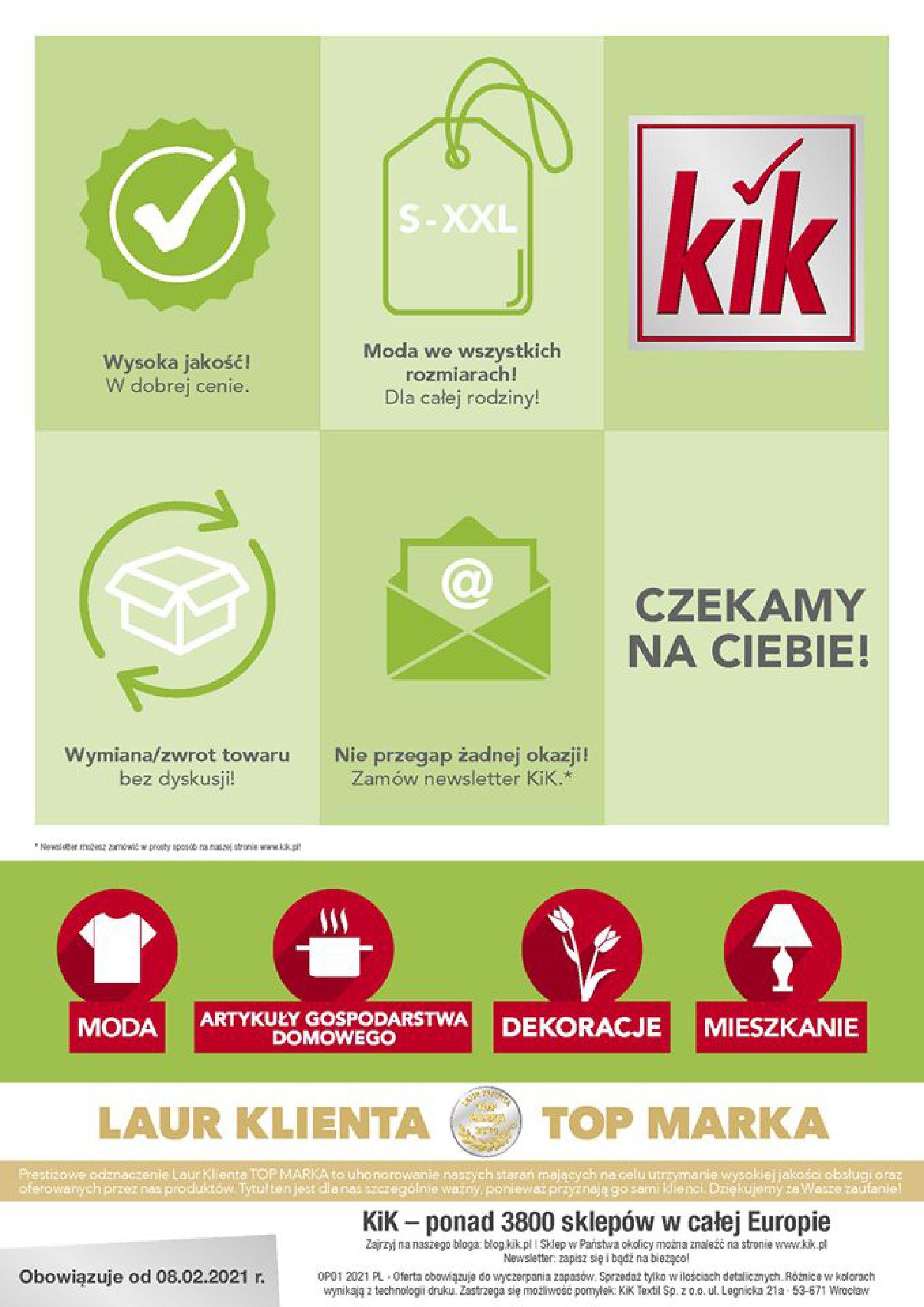 Gazetka KiK: Gazetka promocyjna 2021-02-08 page-12