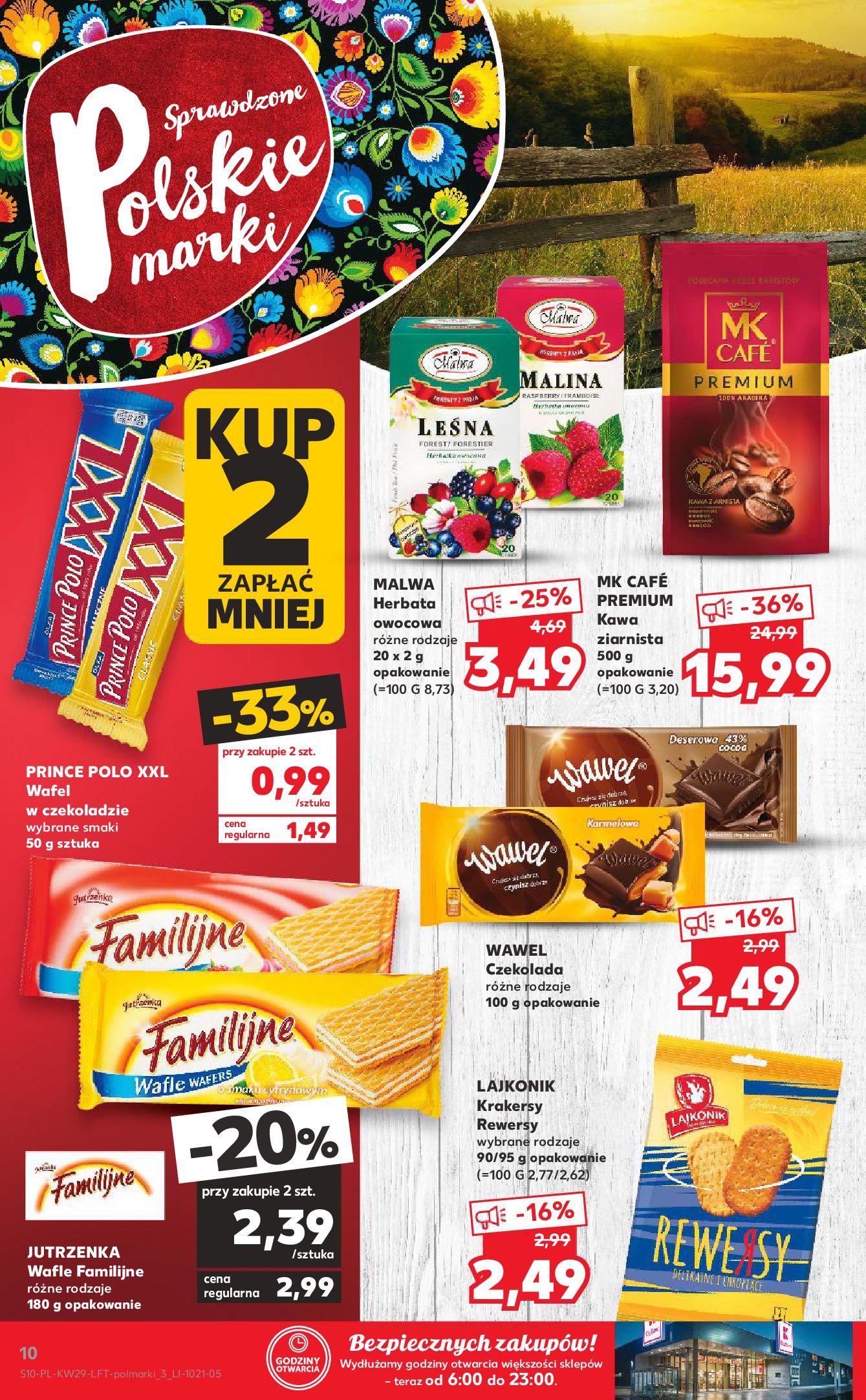 Gazetka Kaufland: Gazetka Kaufland - od czwartku 2021-07-22 page-10