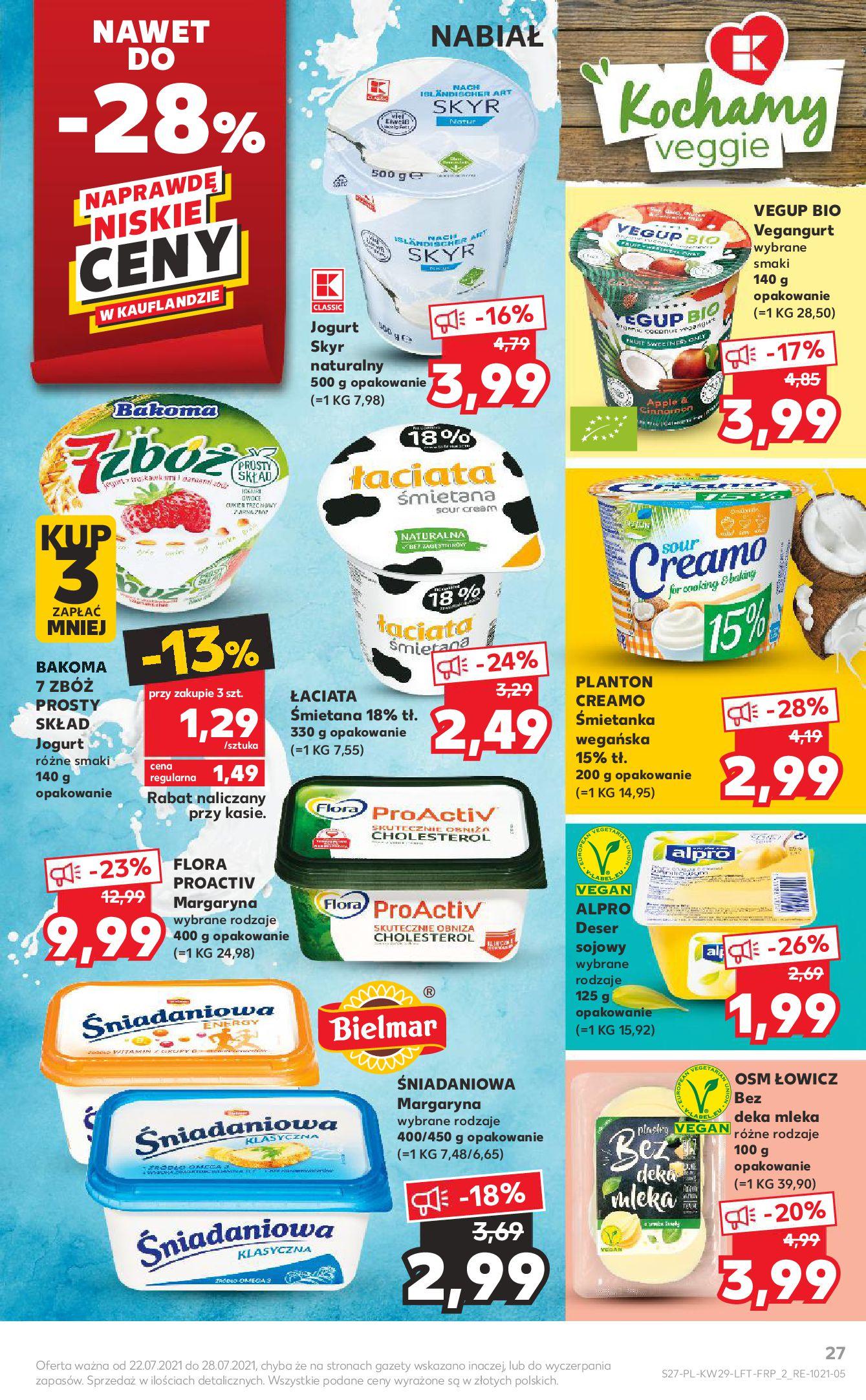Gazetka Kaufland: Gazetka Kaufland - od czwartku 2021-07-22 page-27