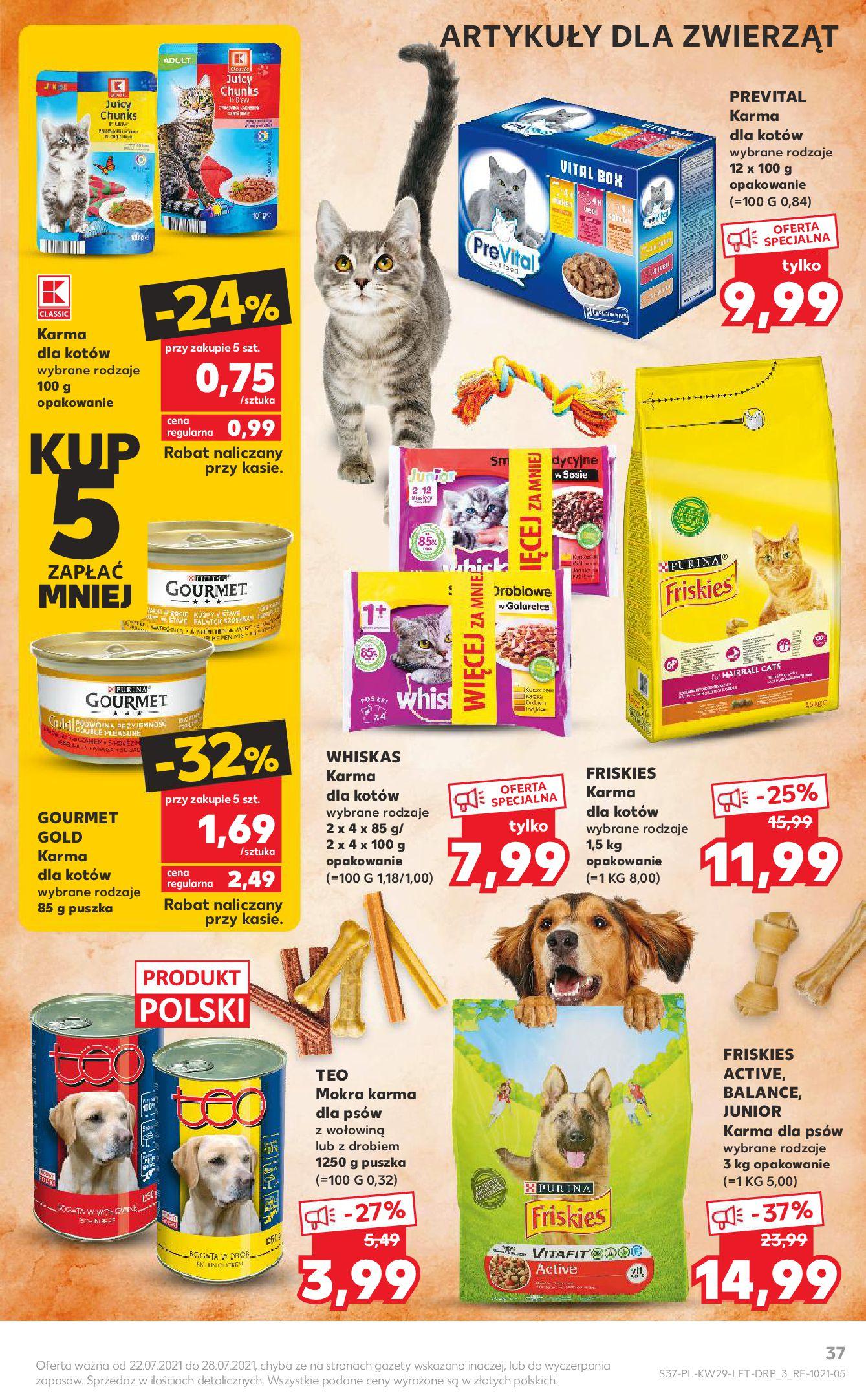 Gazetka Kaufland: Gazetka Kaufland - od czwartku 2021-07-22 page-37