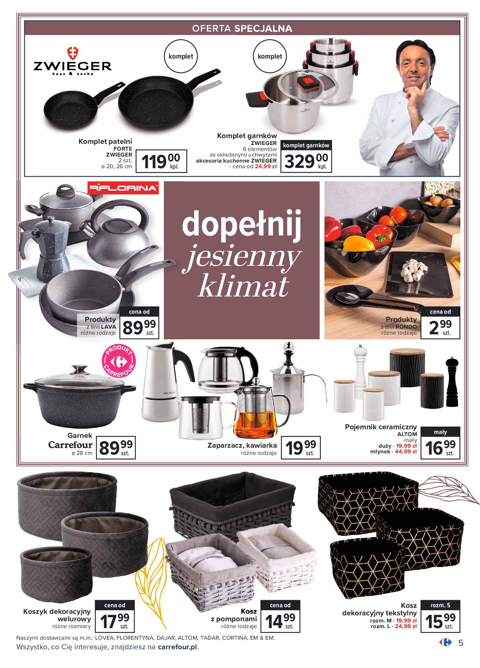 Gazetka Carrefour: Gazetka Carrefour - Dom gotowy na Jesień! 2021-09-14 page-5