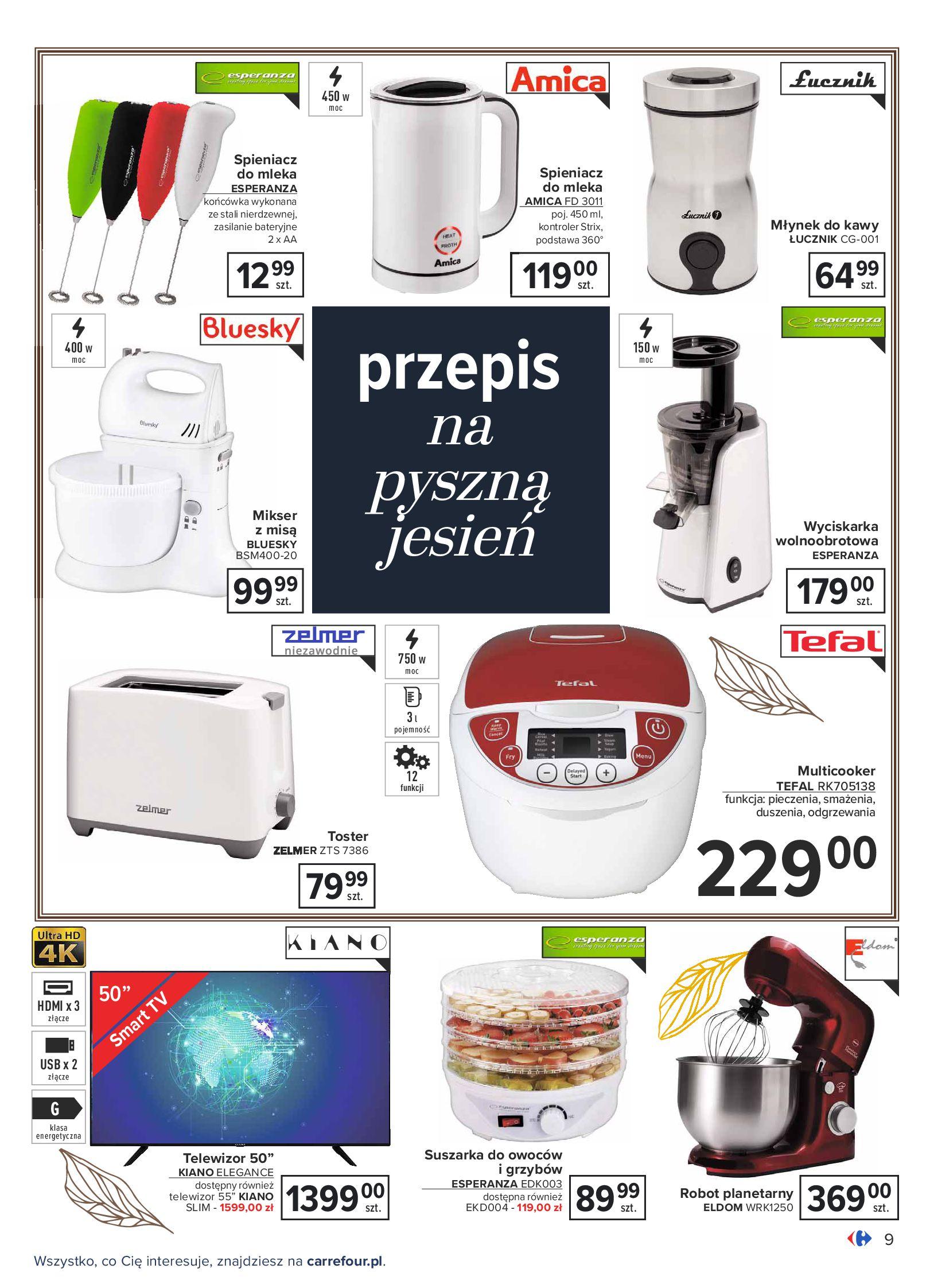 Gazetka Carrefour: Gazetka Carrefour - Dom gotowy na Jesień! 2021-09-14 page-9