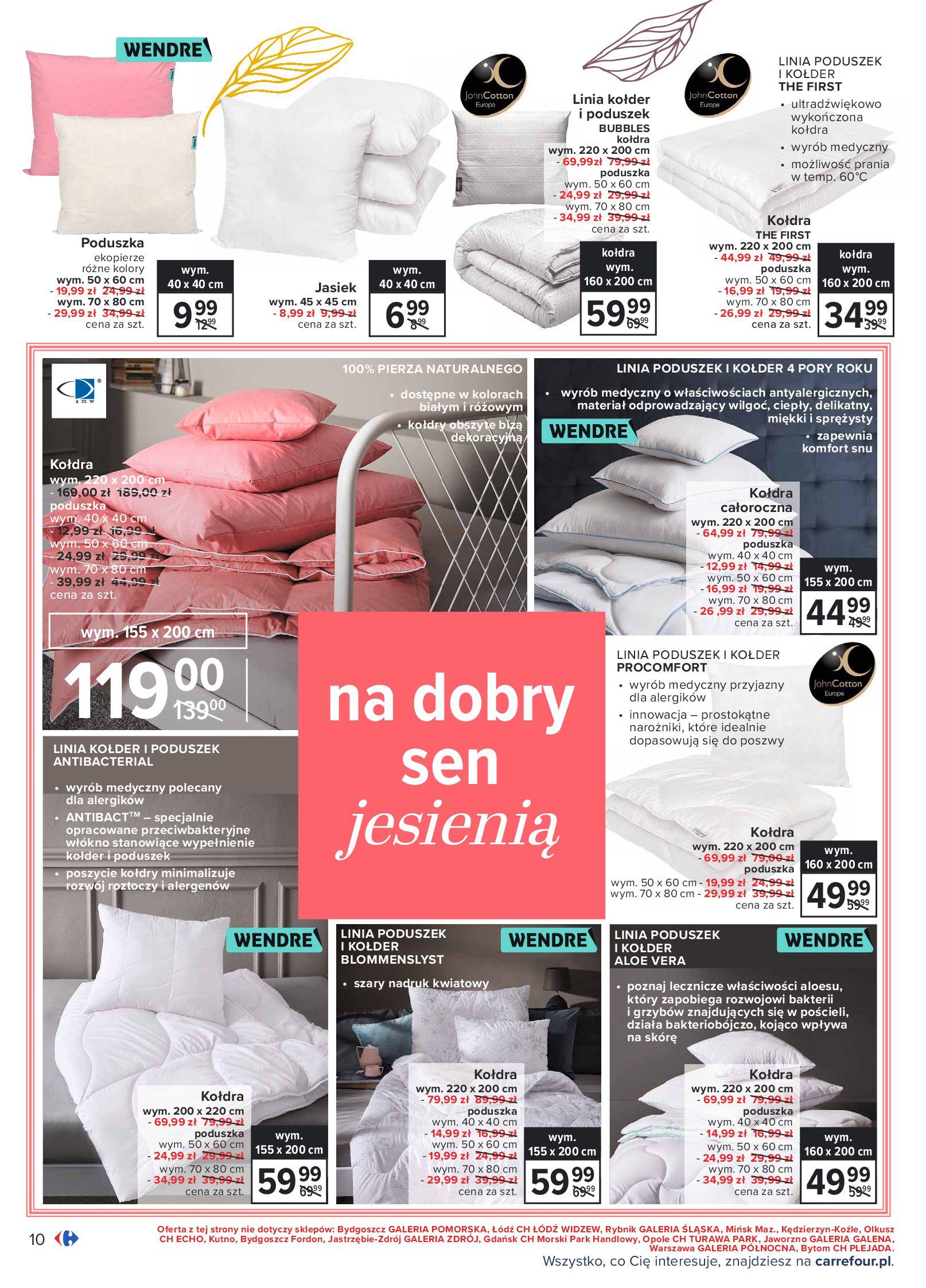 Gazetka Carrefour: Gazetka Carrefour - Dom gotowy na Jesień! 2021-09-14 page-10