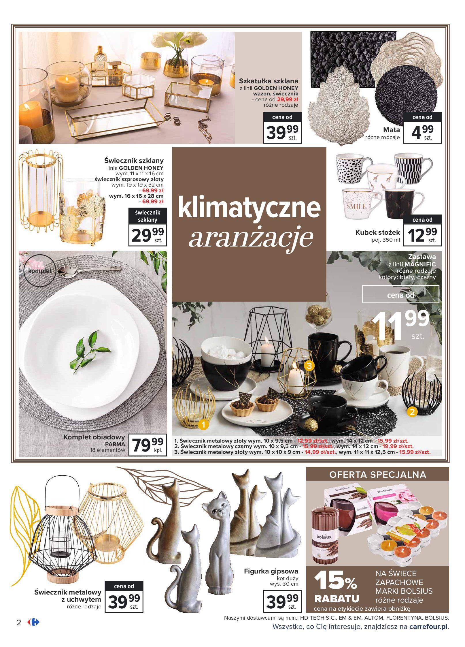 Gazetka Carrefour: Gazetka Carrefour - Dom gotowy na Jesień! 2021-09-14 page-2