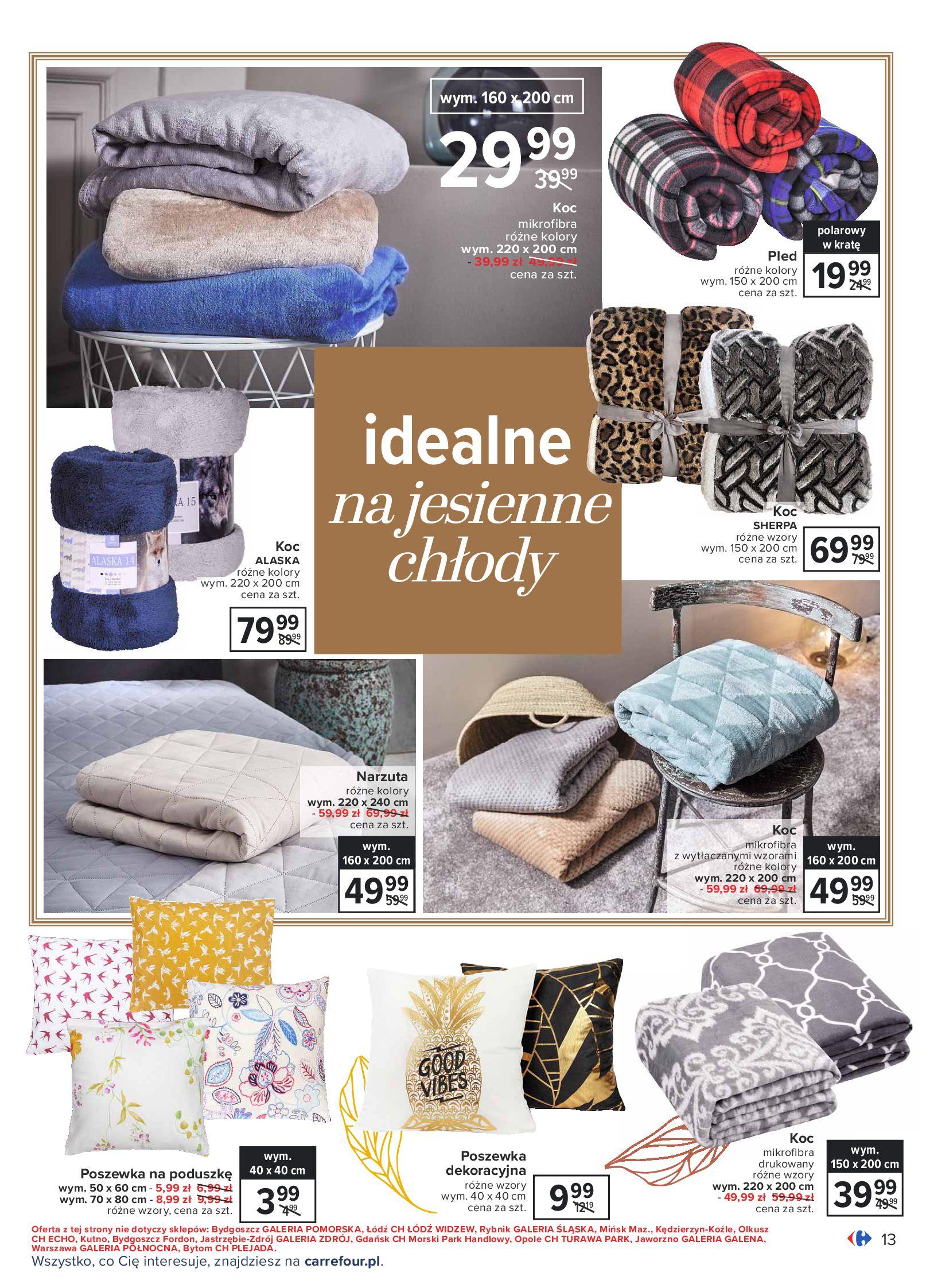 Gazetka Carrefour: Gazetka Carrefour - Dom gotowy na Jesień! 2021-09-14 page-13