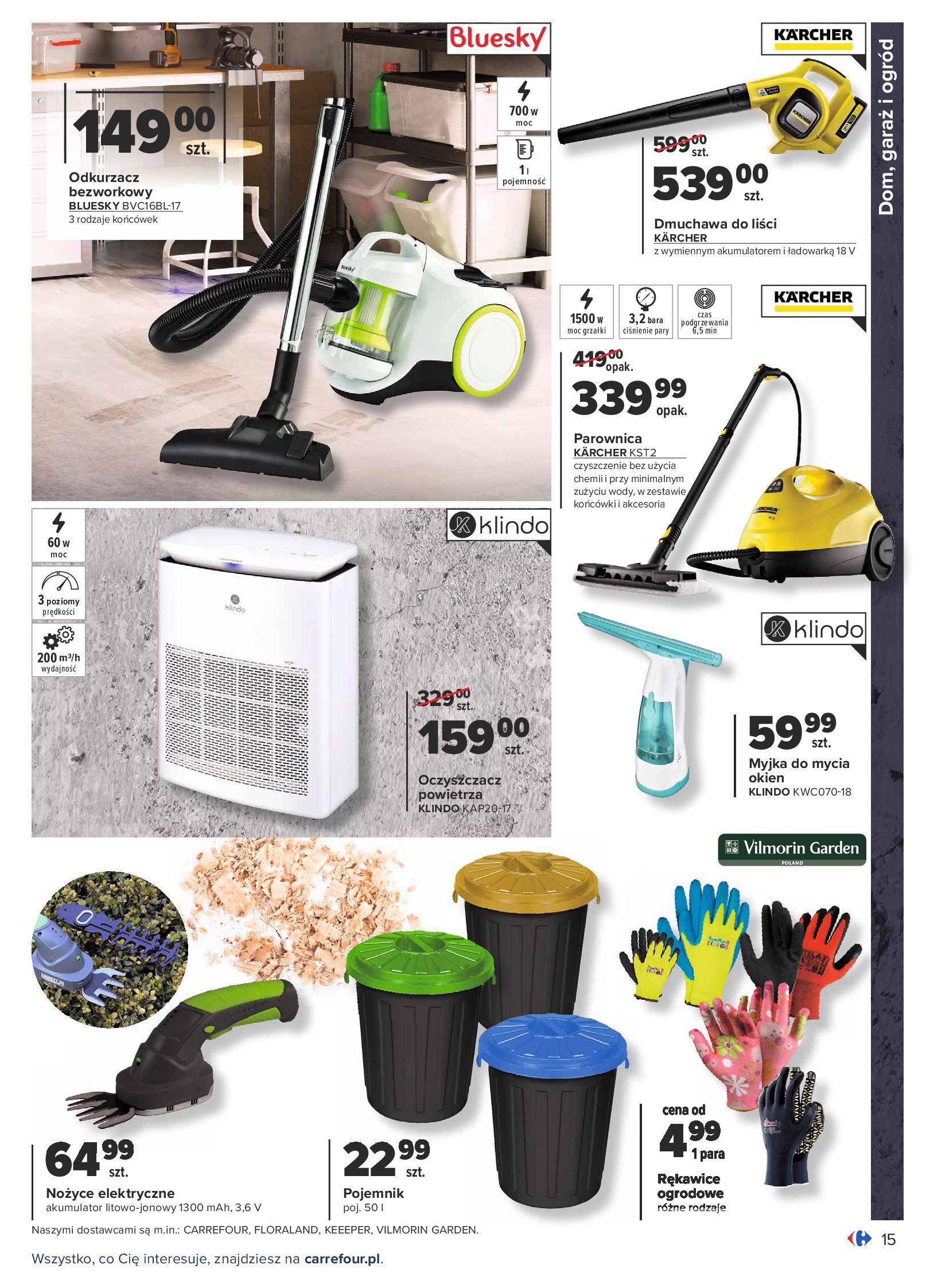 Gazetka Carrefour: Gazetka Carrefour - Dom gotowy na Jesień! 2021-09-14 page-15