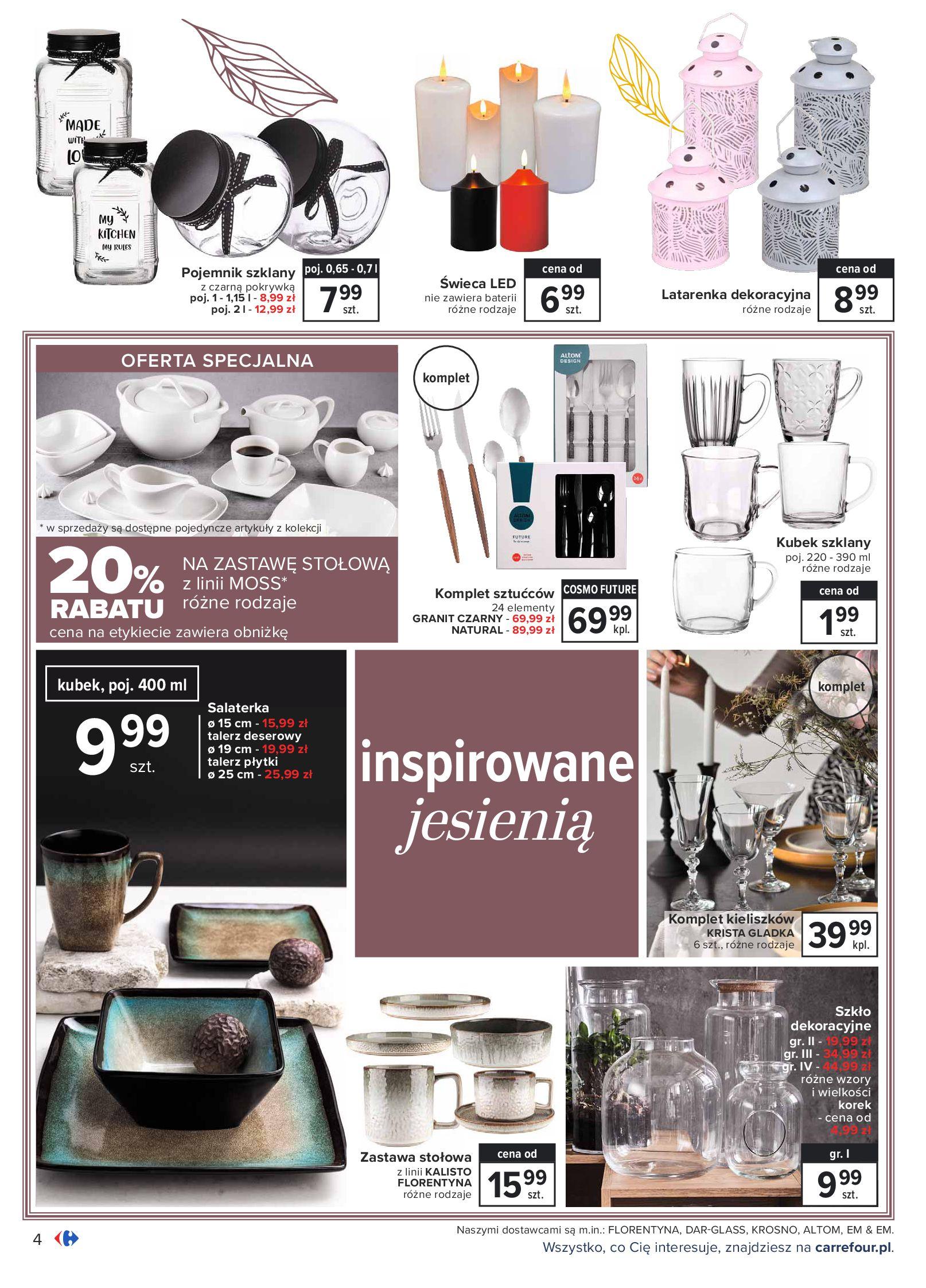 Gazetka Carrefour: Gazetka Carrefour - Dom gotowy na Jesień! 2021-09-14 page-4