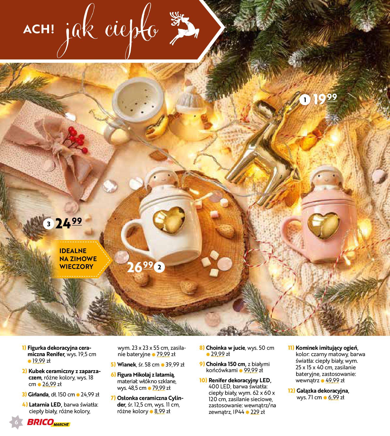 Gazetka Bricomarché: Gotowi na Święta 2020-11-18 page-6