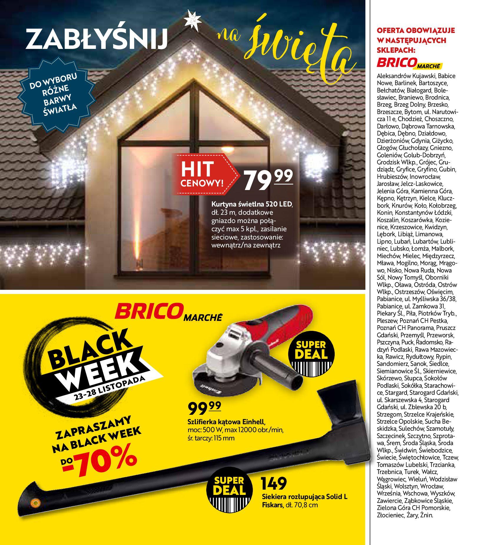 Gazetka Bricomarché: Gotowi na Święta 2020-11-18 page-20