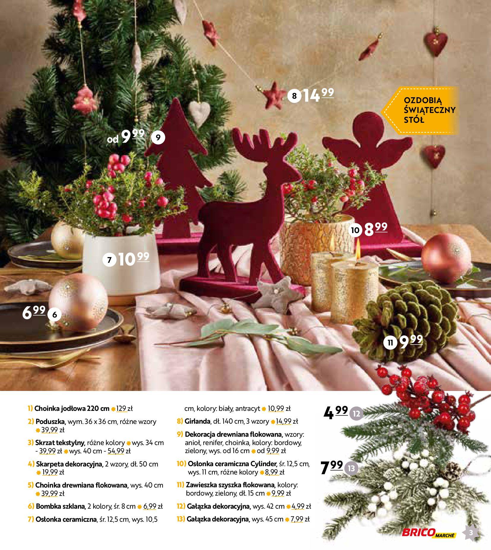 Gazetka Bricomarché: Gotowi na Święta 2020-11-18 page-3