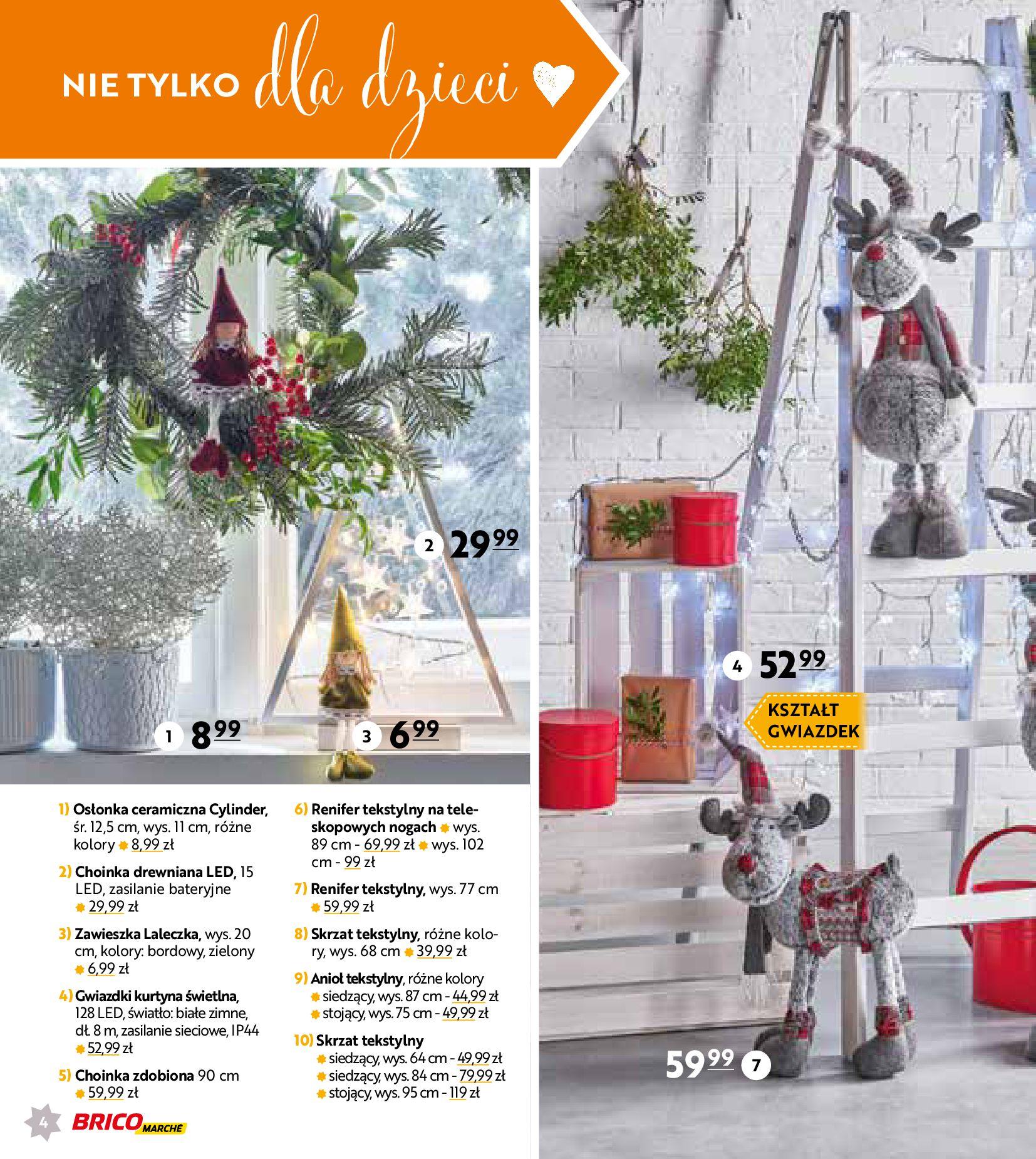 Gazetka Bricomarché: Gotowi na Święta 2020-11-18 page-4