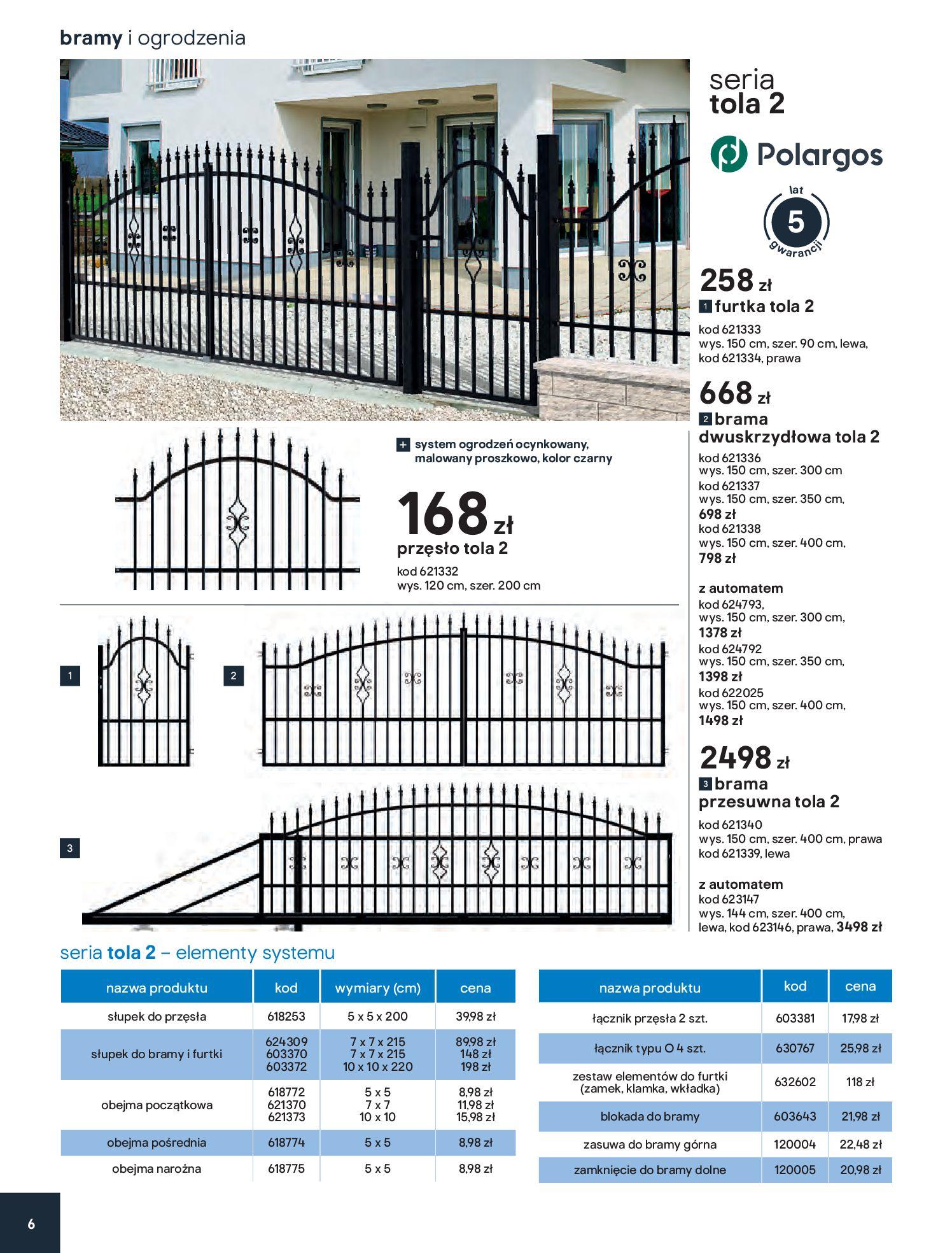 Gazetka Castorama - Przewodnik bramy i ogrodzenia-12.02.2020-30.06.2020-page-6