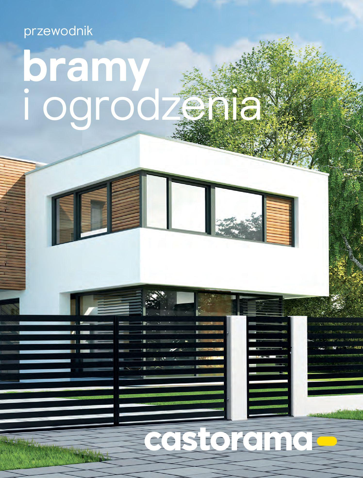 Gazetka Castorama - Przewodnik bramy i ogrodzenia-12.02.2020-30.06.2020-page-1