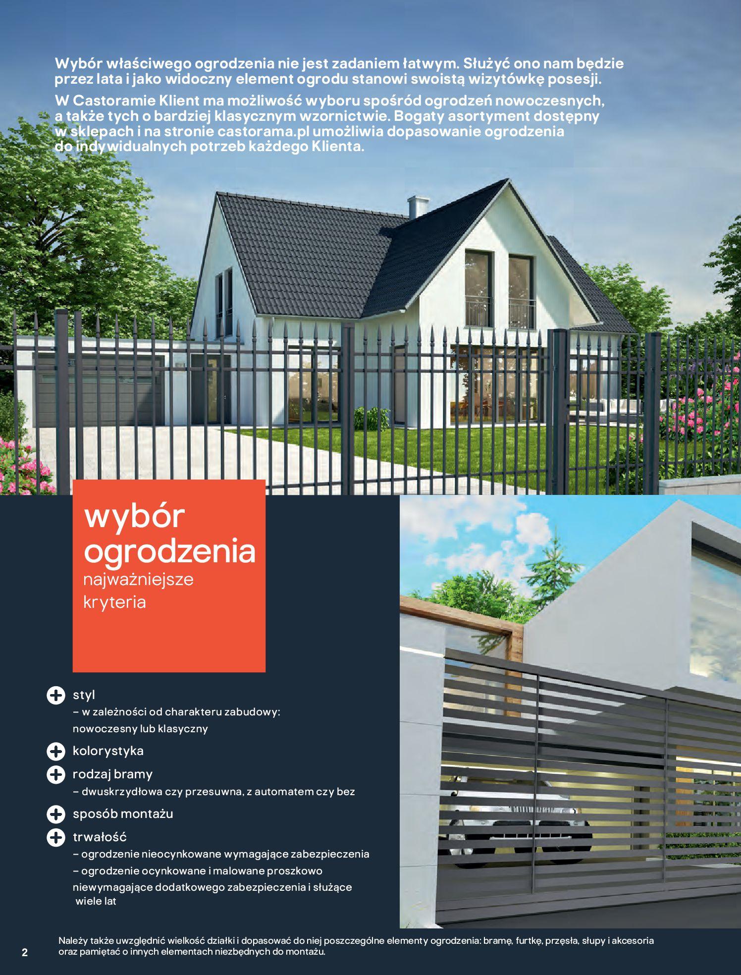 Gazetka Castorama - Przewodnik bramy i ogrodzenia-12.02.2020-30.06.2020-page-2