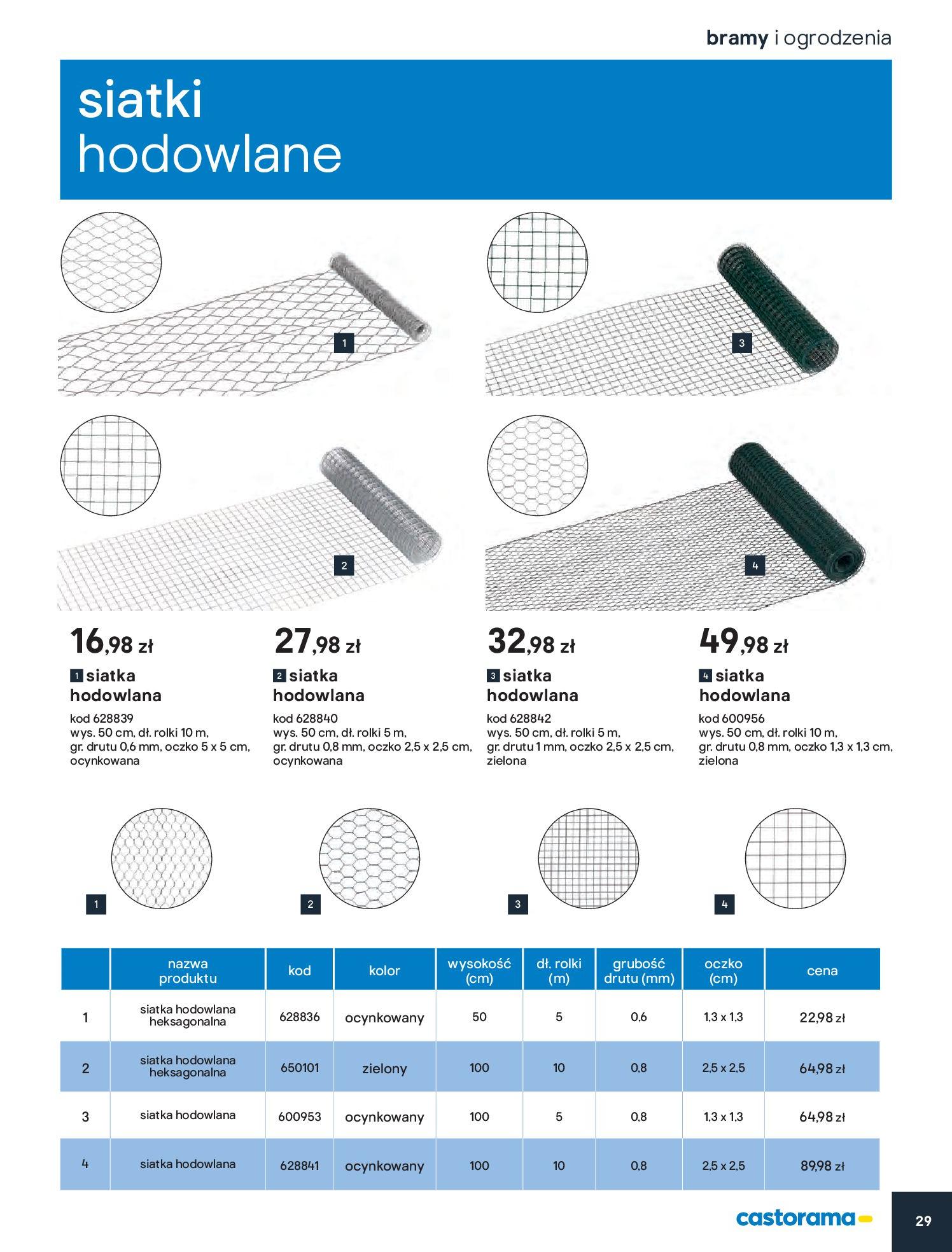 Gazetka Castorama - Przewodnik bramy i ogrodzenia-12.02.2020-30.06.2020-page-29