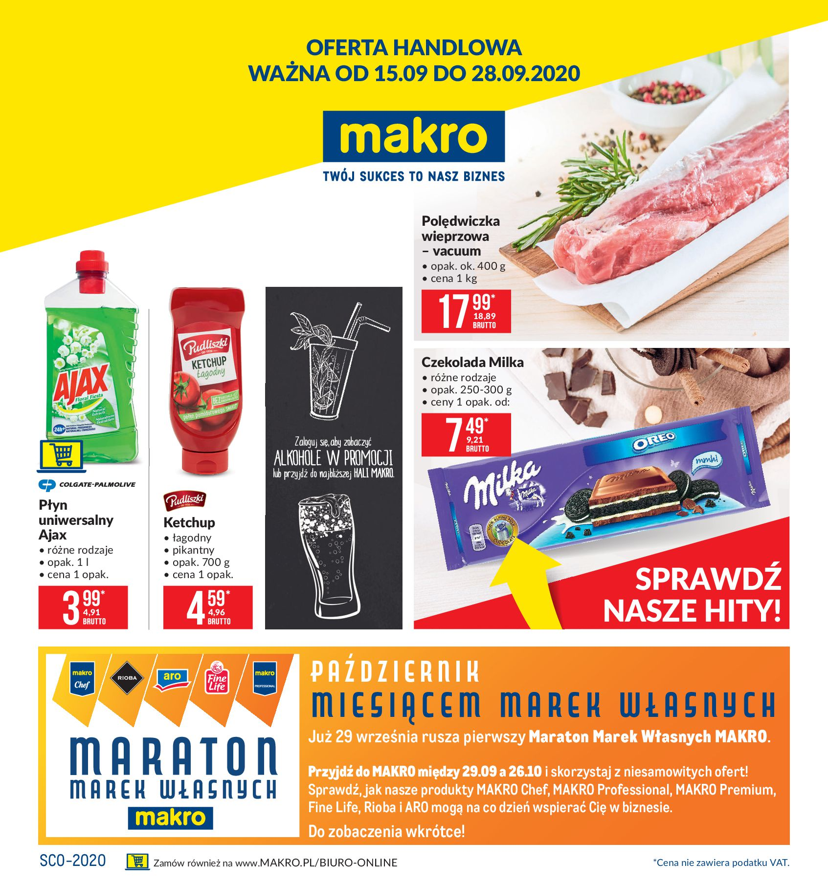 Gazetka Makro - Oferta handowa-14.09.2020-29.09.2020-page-1