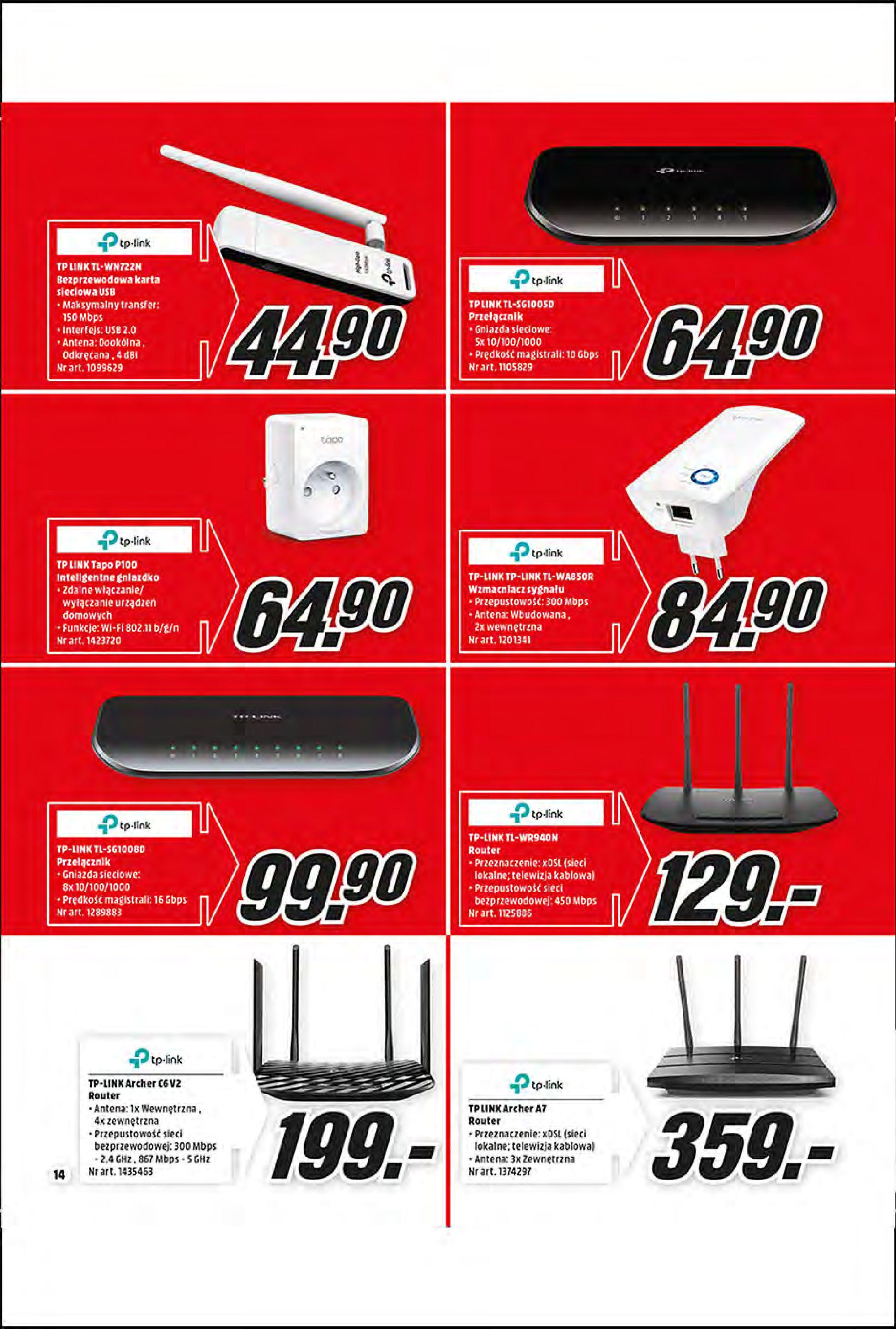 Gazetka Media Markt: Oferta handlowa 2021-01-11 page-14