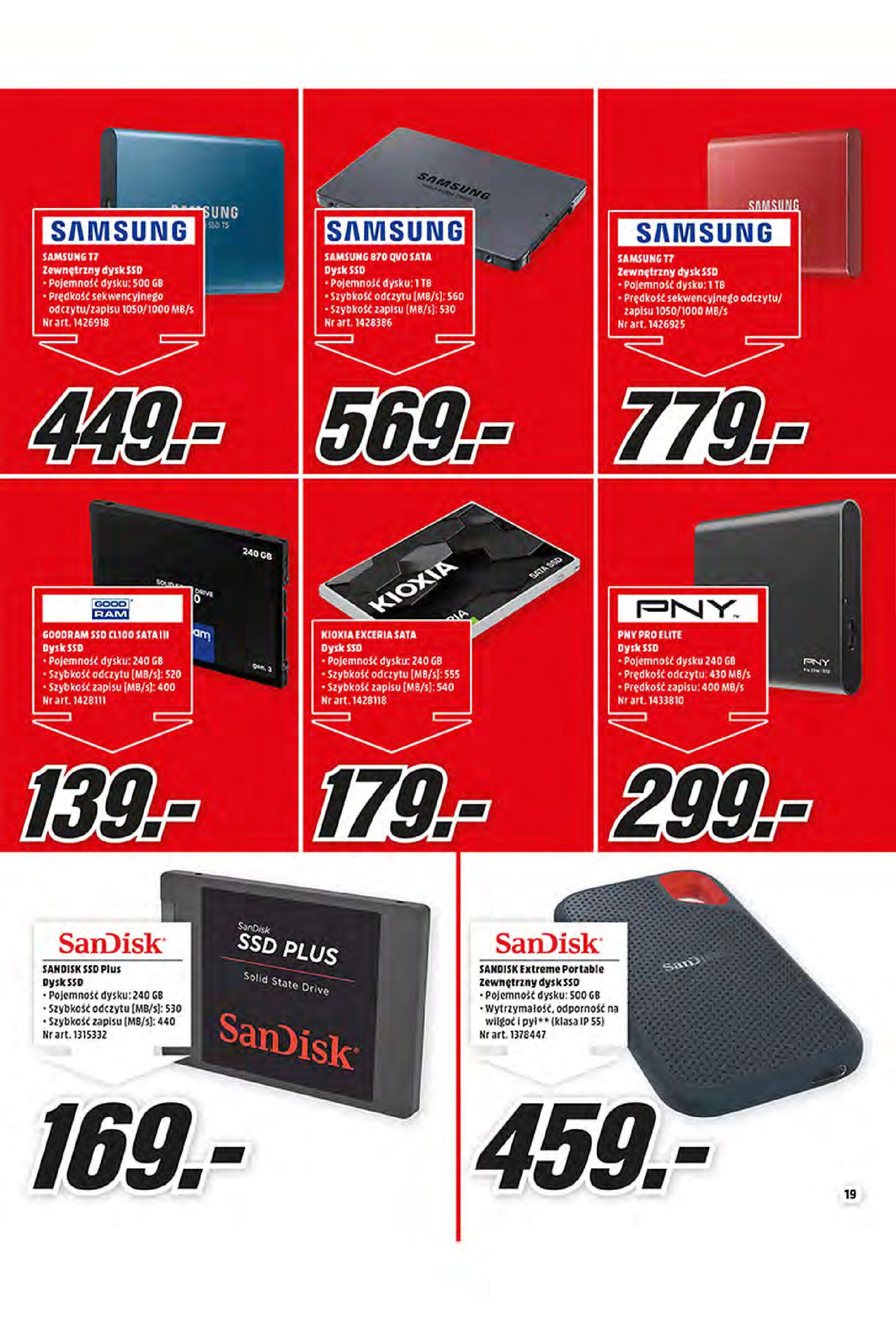 Gazetka Media Markt: Oferta handlowa 2021-01-11 page-19