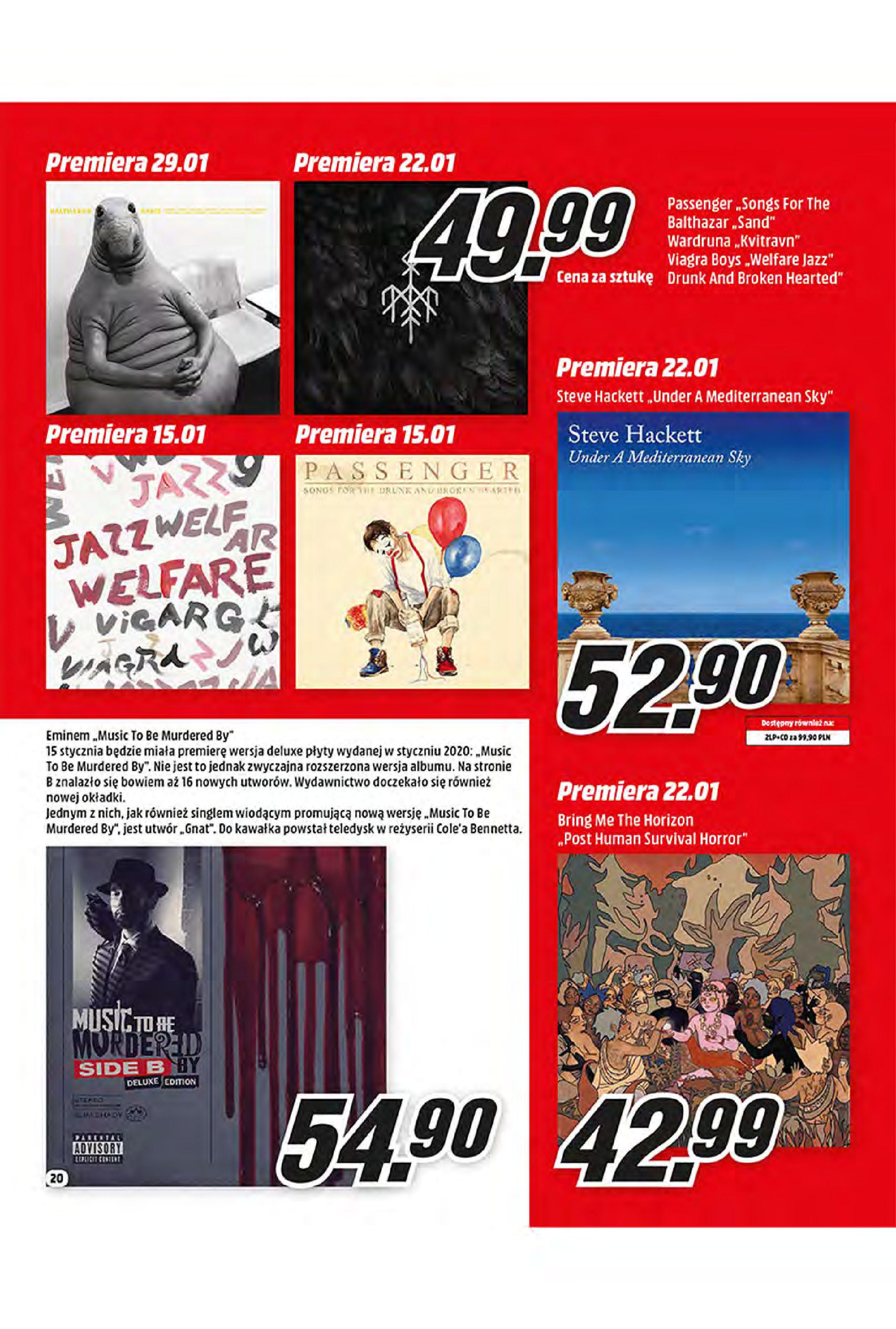 Gazetka Media Markt: Oferta handlowa 2021-01-11 page-20
