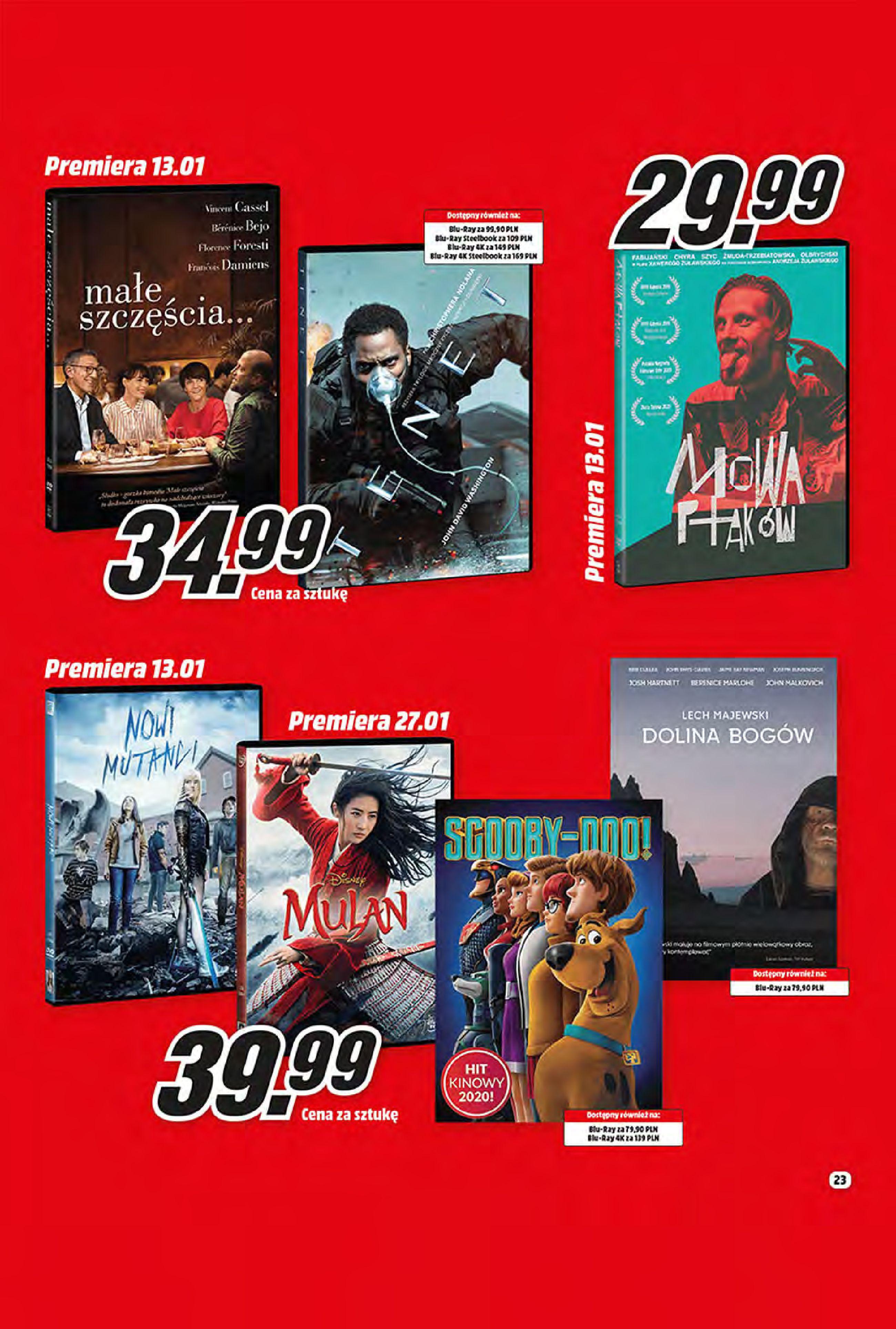 Gazetka Media Markt: Oferta handlowa 2021-01-11 page-23
