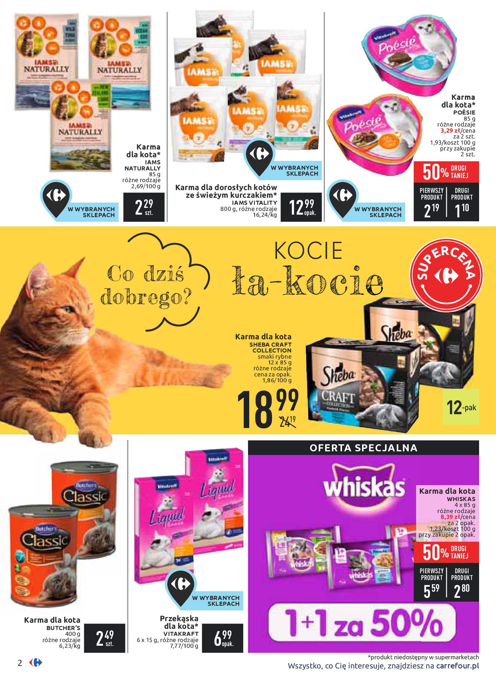 Gazetka Carrefour - Zwierzaki GÓRĄ!-10.02.2020-24.02.2020-page-2