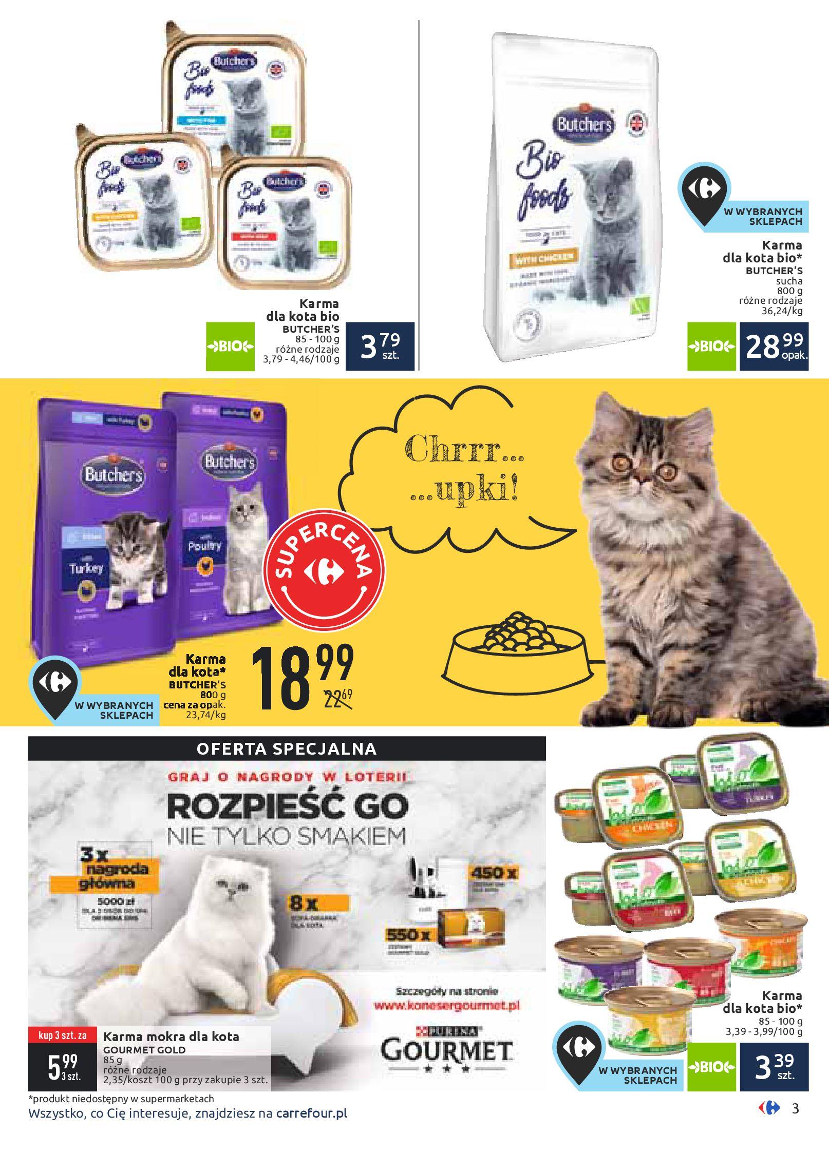 Gazetka Carrefour - Zwierzaki GÓRĄ!-10.02.2020-24.02.2020-page-3