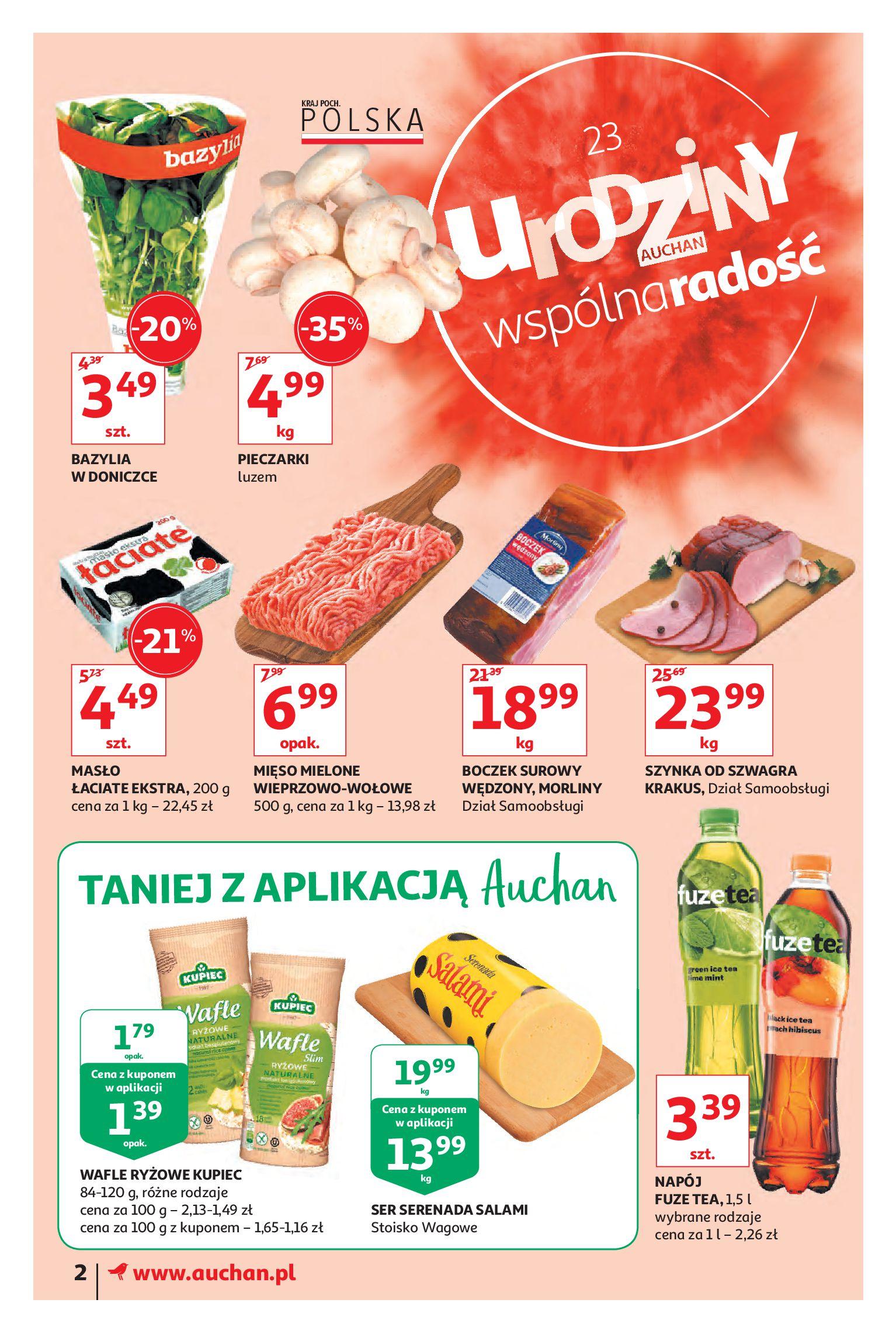 Gazetka Auchan - Urodziny Auchan cz. III - Moje Auchan-15.05.2019-23.05.2019-page-