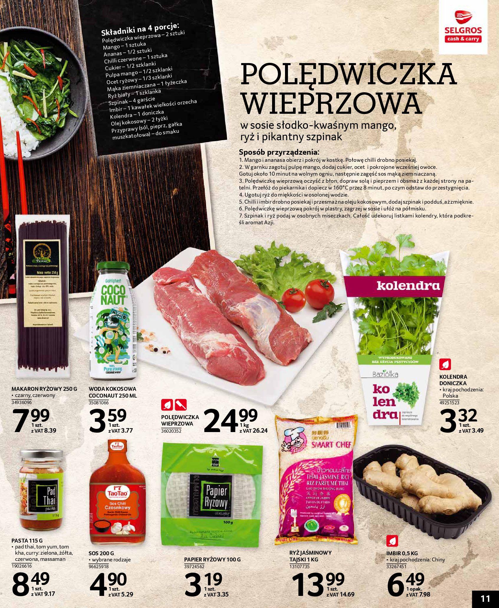 Gazetka Selgros - Kuchnie świata-08.05.2019-22.05.2019-page-