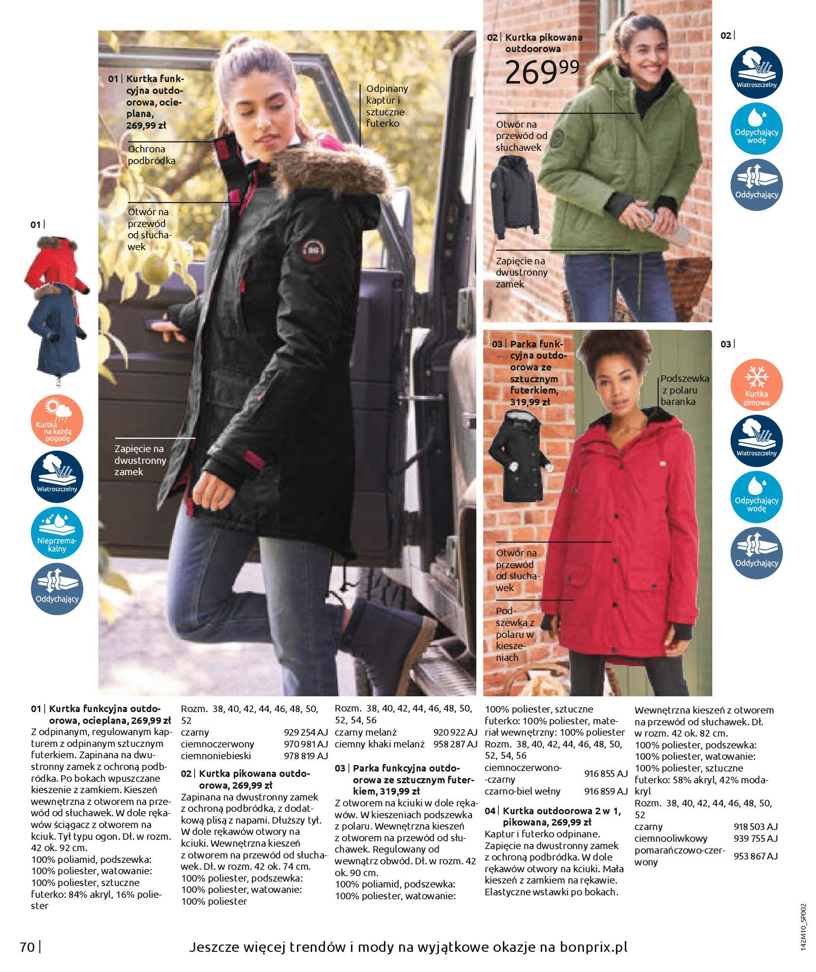 Gazetka Bonprix: Stylowa jesień 2020-10-21 page-72
