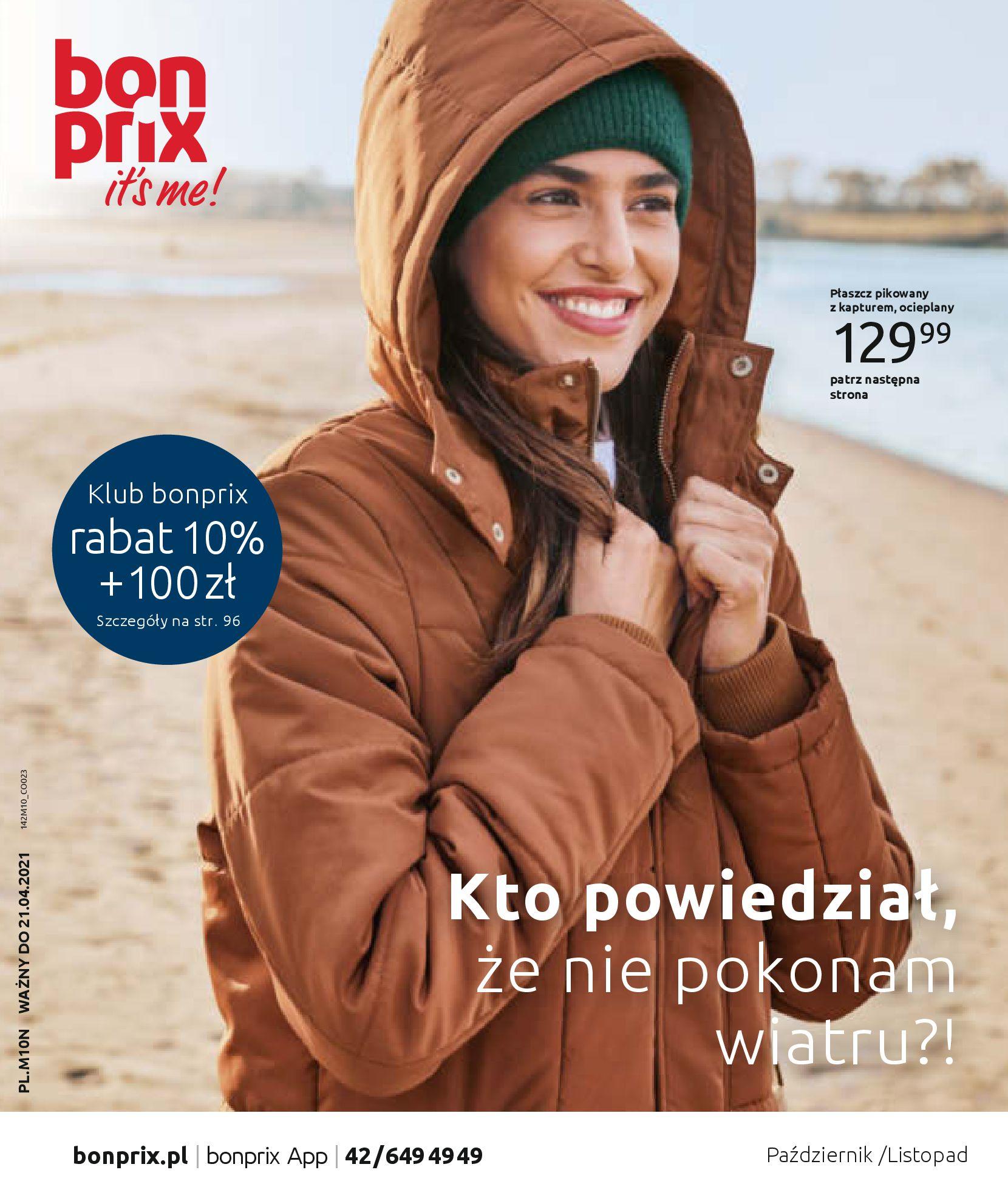 Gazetka Bonprix: Stylowa jesień 2020-10-21 page-1