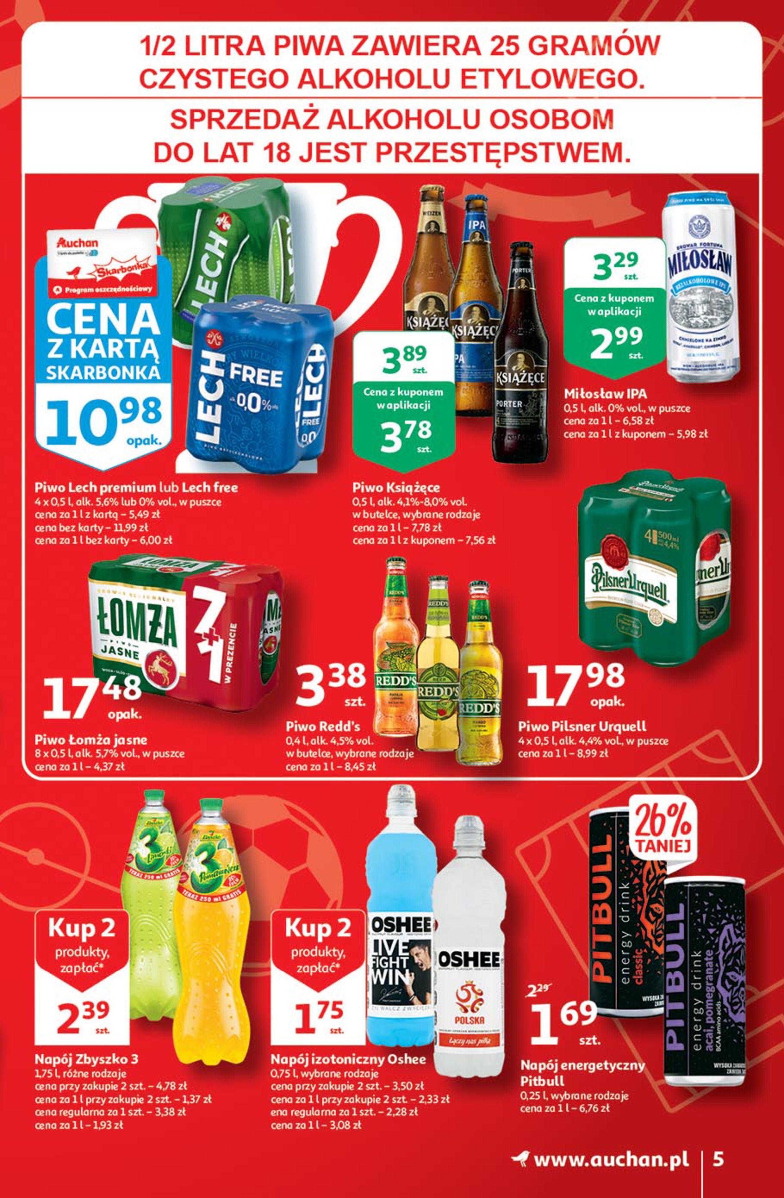 Gazetka Auchan: Gazetka Auchan - Euro 2020 2021-06-10 page-5