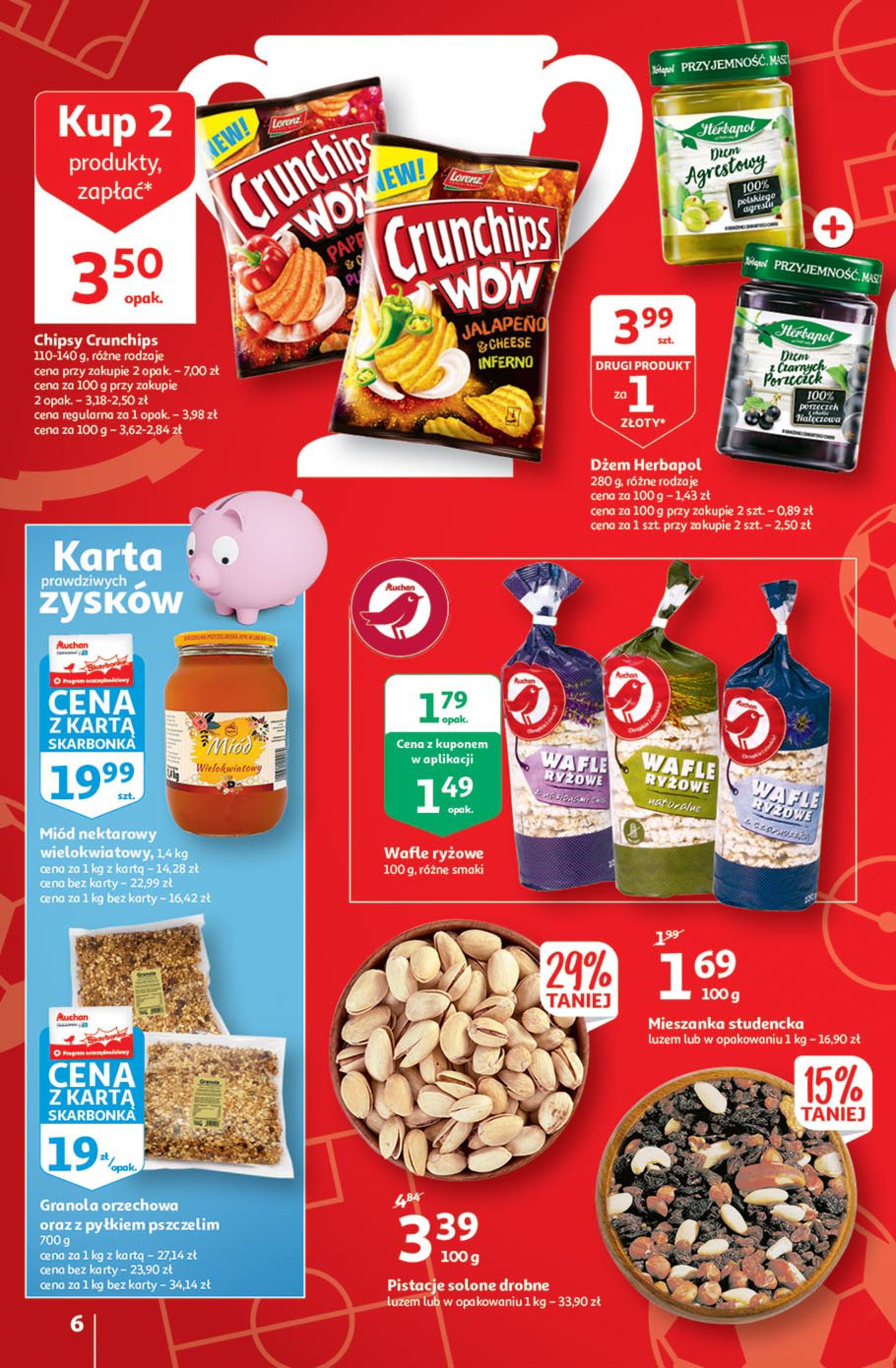 Gazetka Auchan: Gazetka Auchan - Euro 2020 2021-06-10 page-6