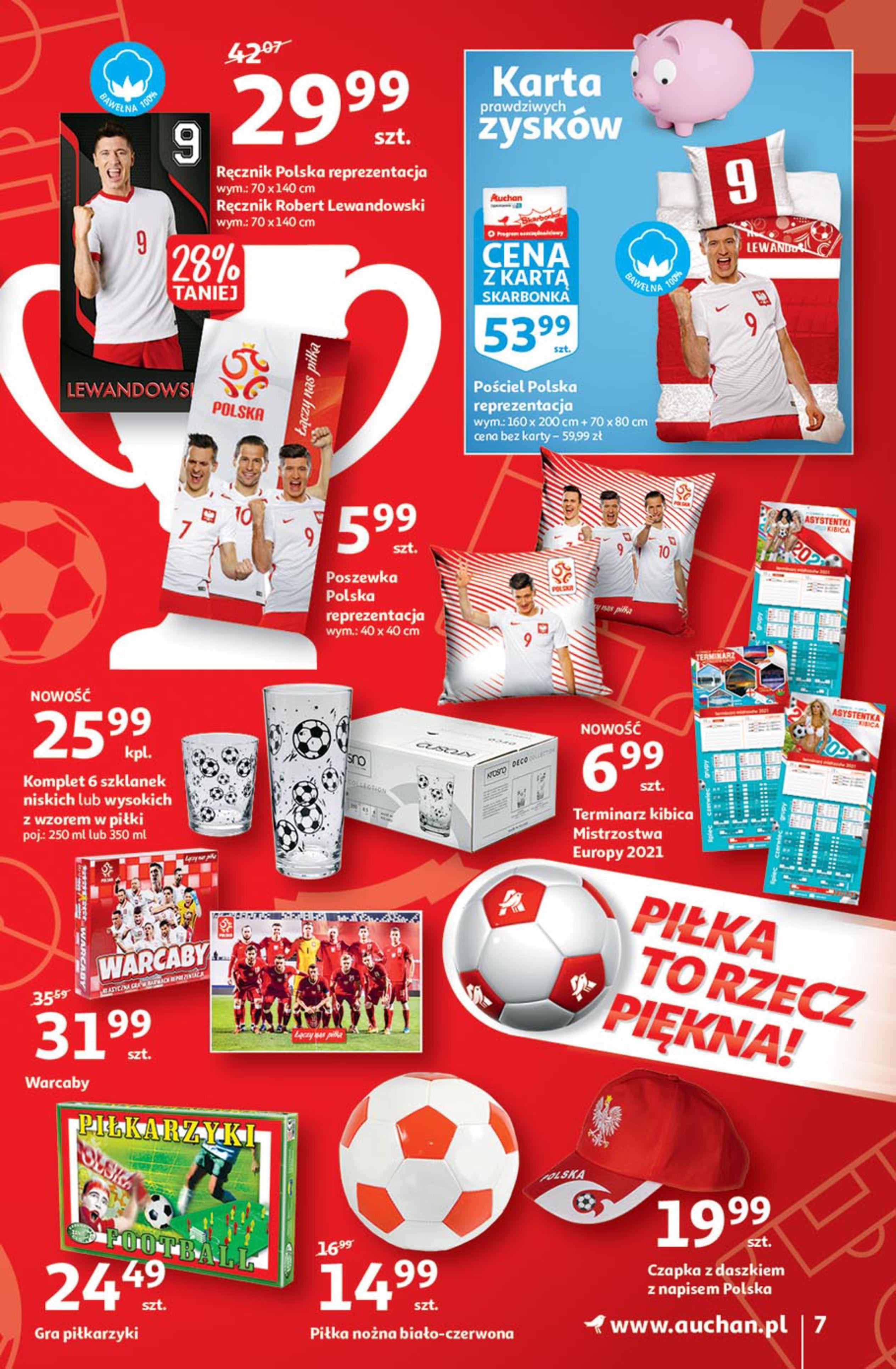 Gazetka Auchan: Gazetka Auchan - Euro 2020 2021-06-10 page-7