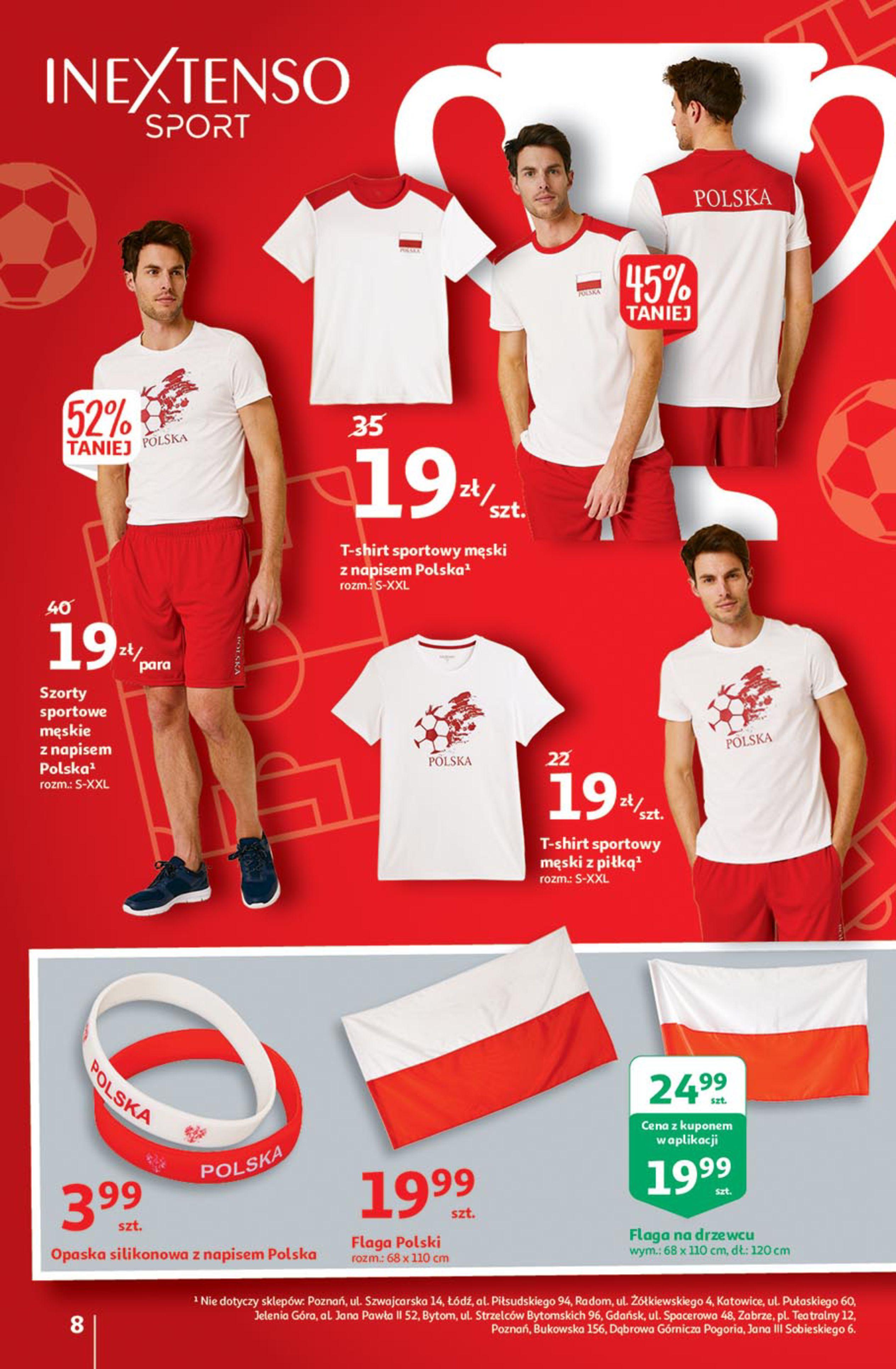 Gazetka Auchan: Gazetka Auchan - Euro 2020 2021-06-10 page-8