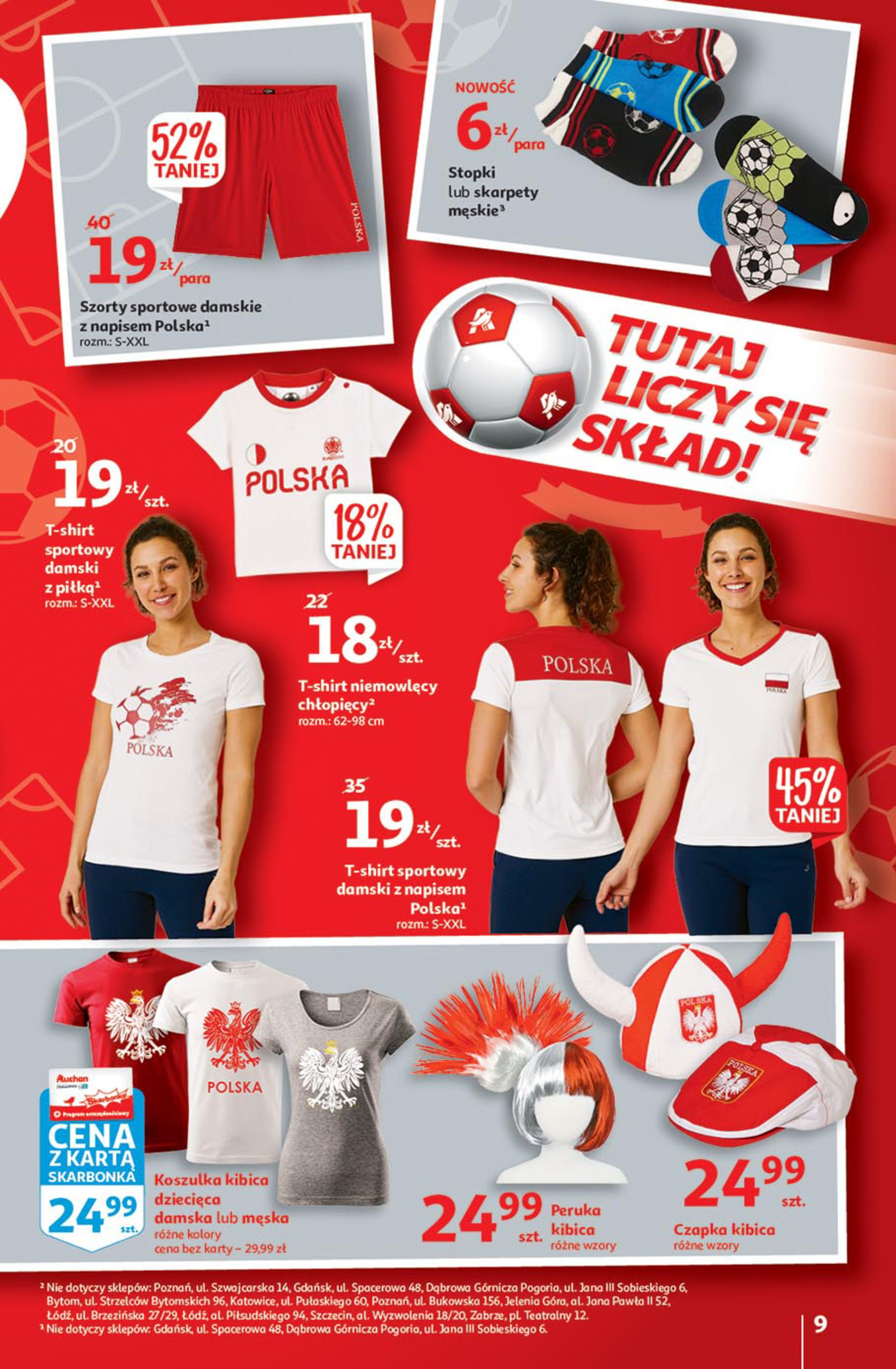 Gazetka Auchan: Gazetka Auchan - Euro 2020 2021-06-10 page-9