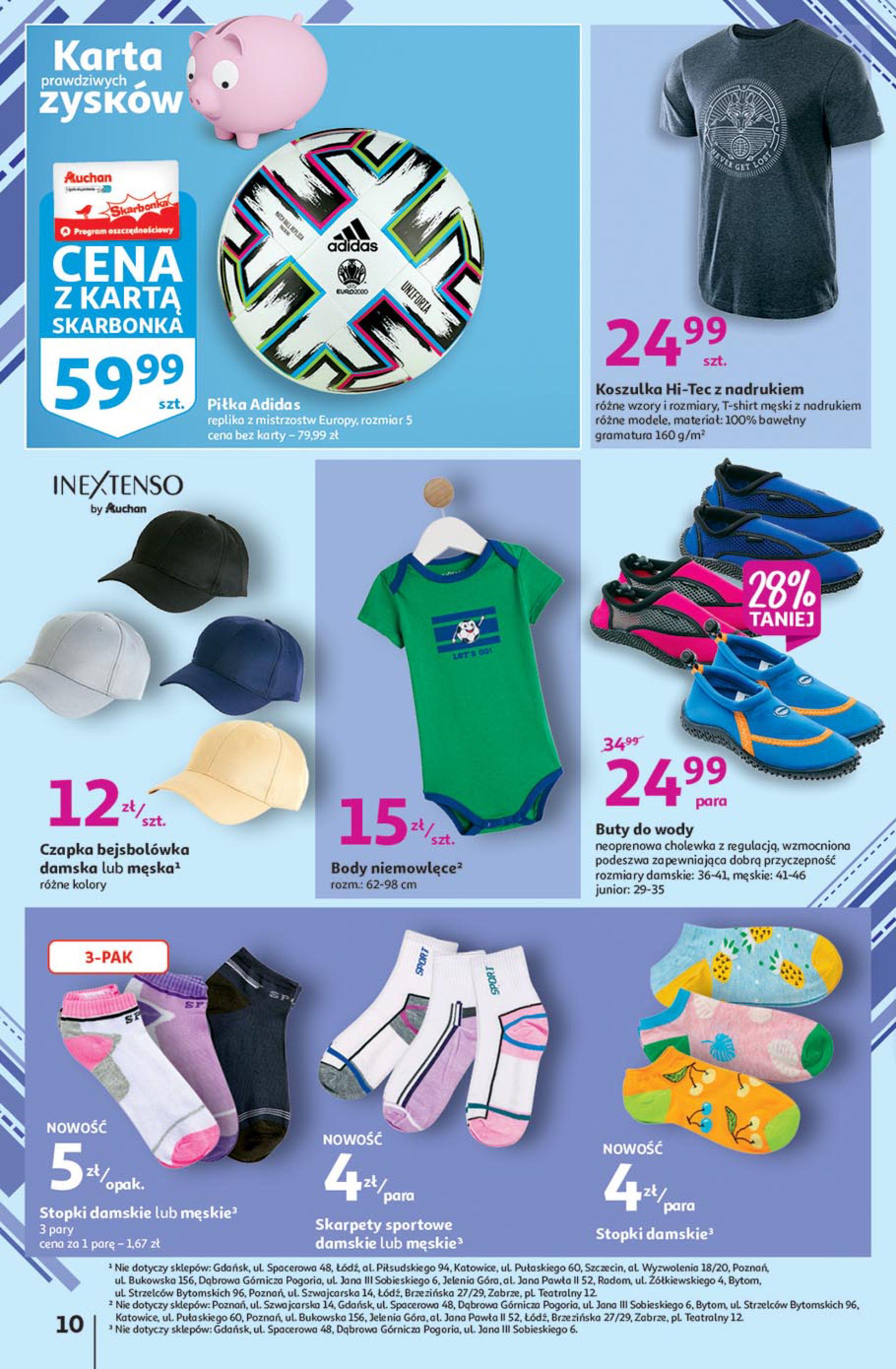 Gazetka Auchan: Gazetka Auchan - Euro 2020 2021-06-10 page-10