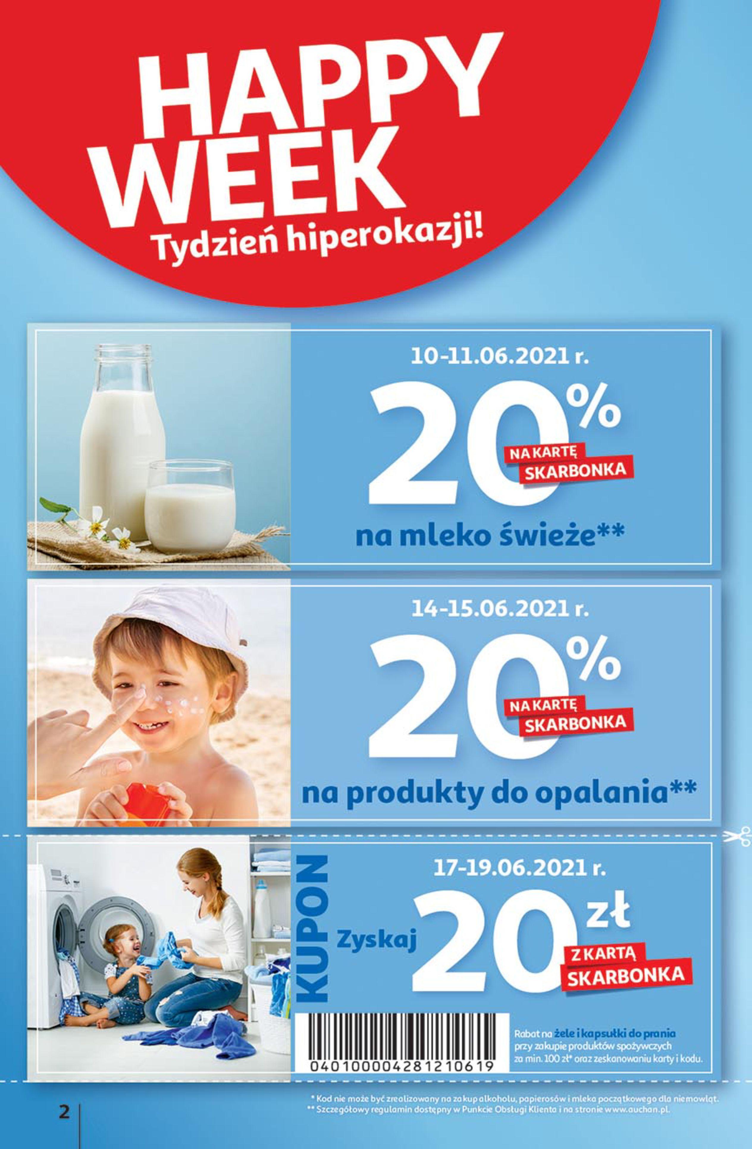 Gazetka Auchan: Gazetka Auchan - Euro 2020 2021-06-10 page-2
