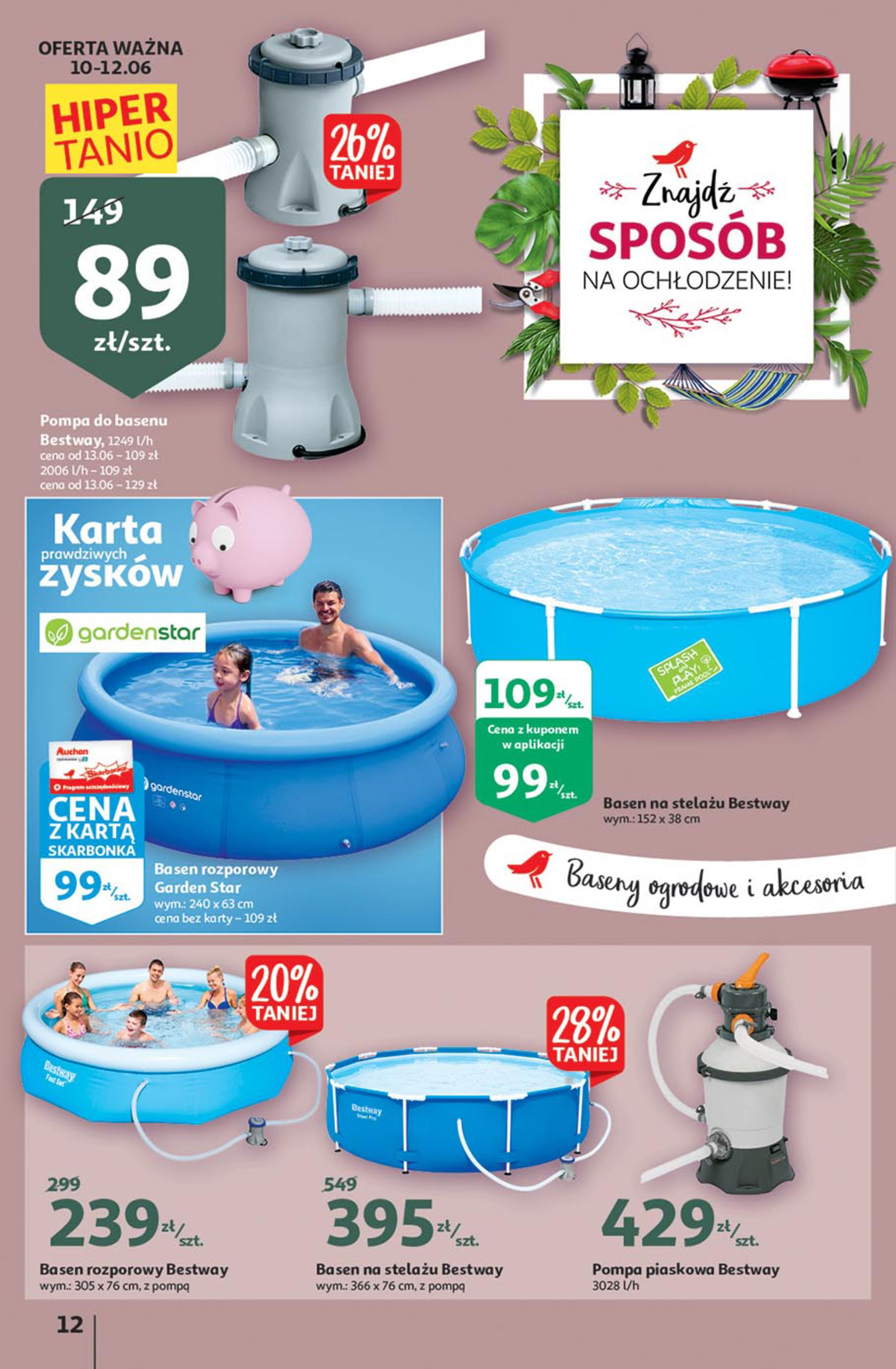 Gazetka Auchan: Gazetka Auchan - Euro 2020 2021-06-10 page-12