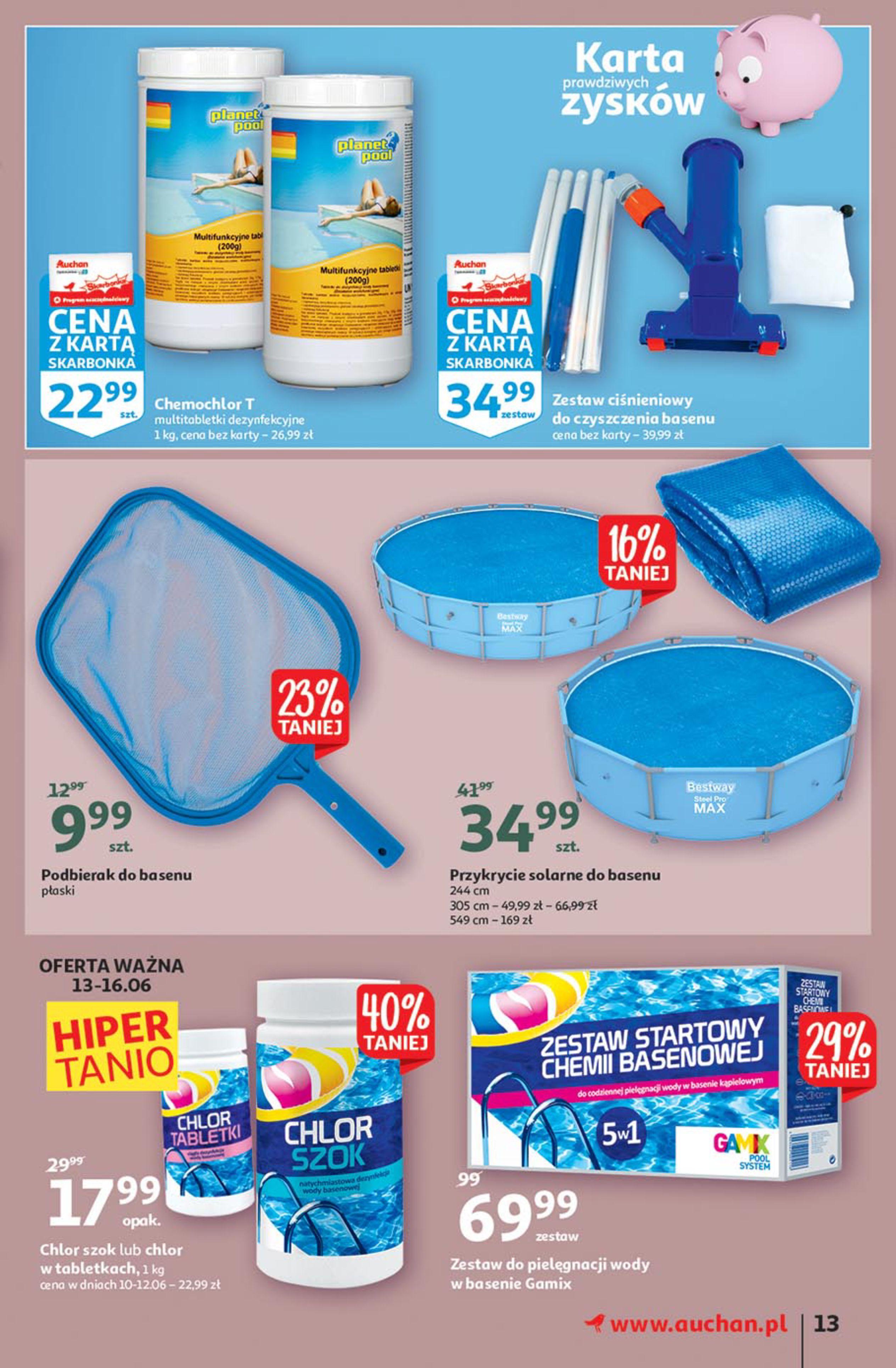 Gazetka Auchan: Gazetka Auchan - Euro 2020 2021-06-10 page-13